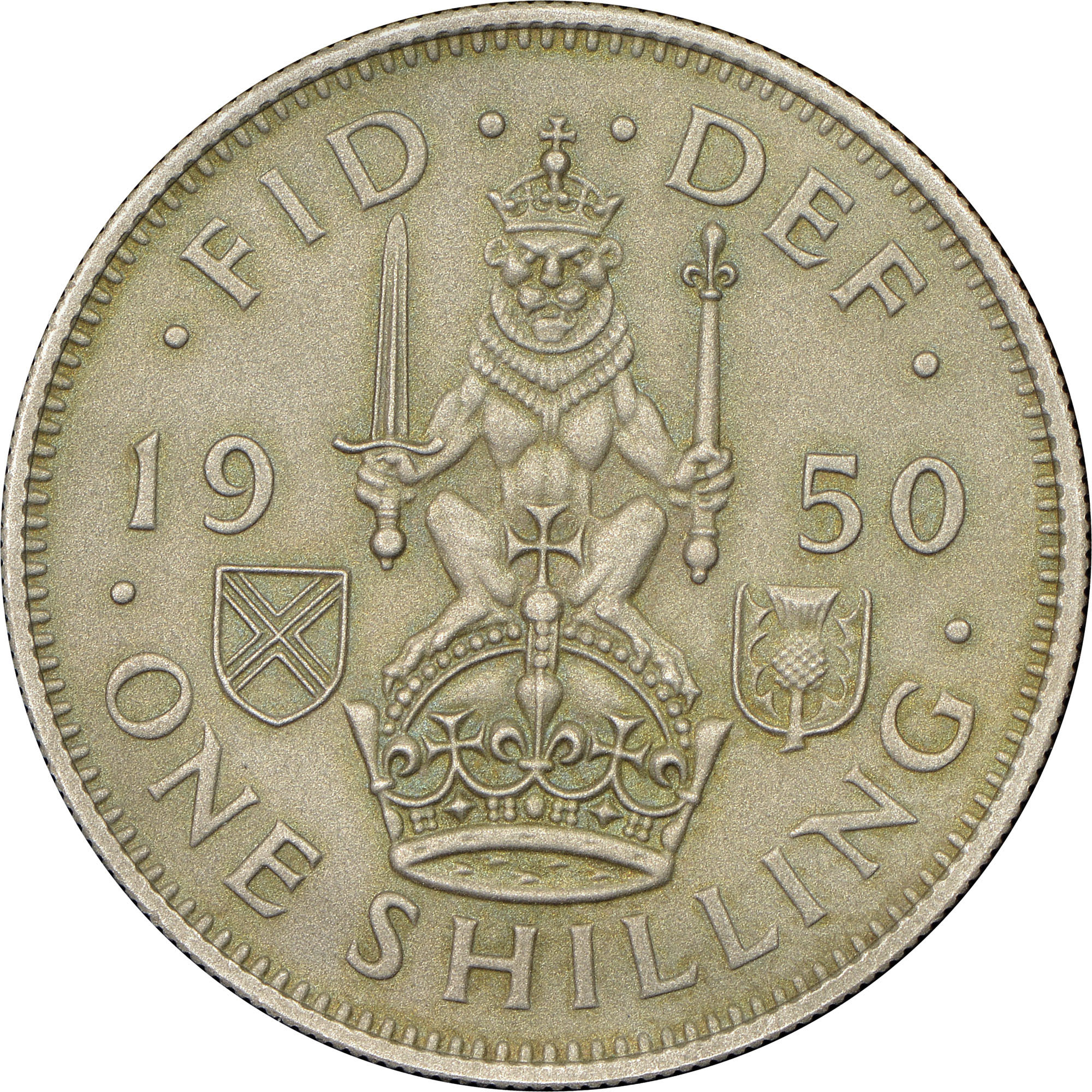 Great Britain Shilling KM 877 Prices & Values | NGC
