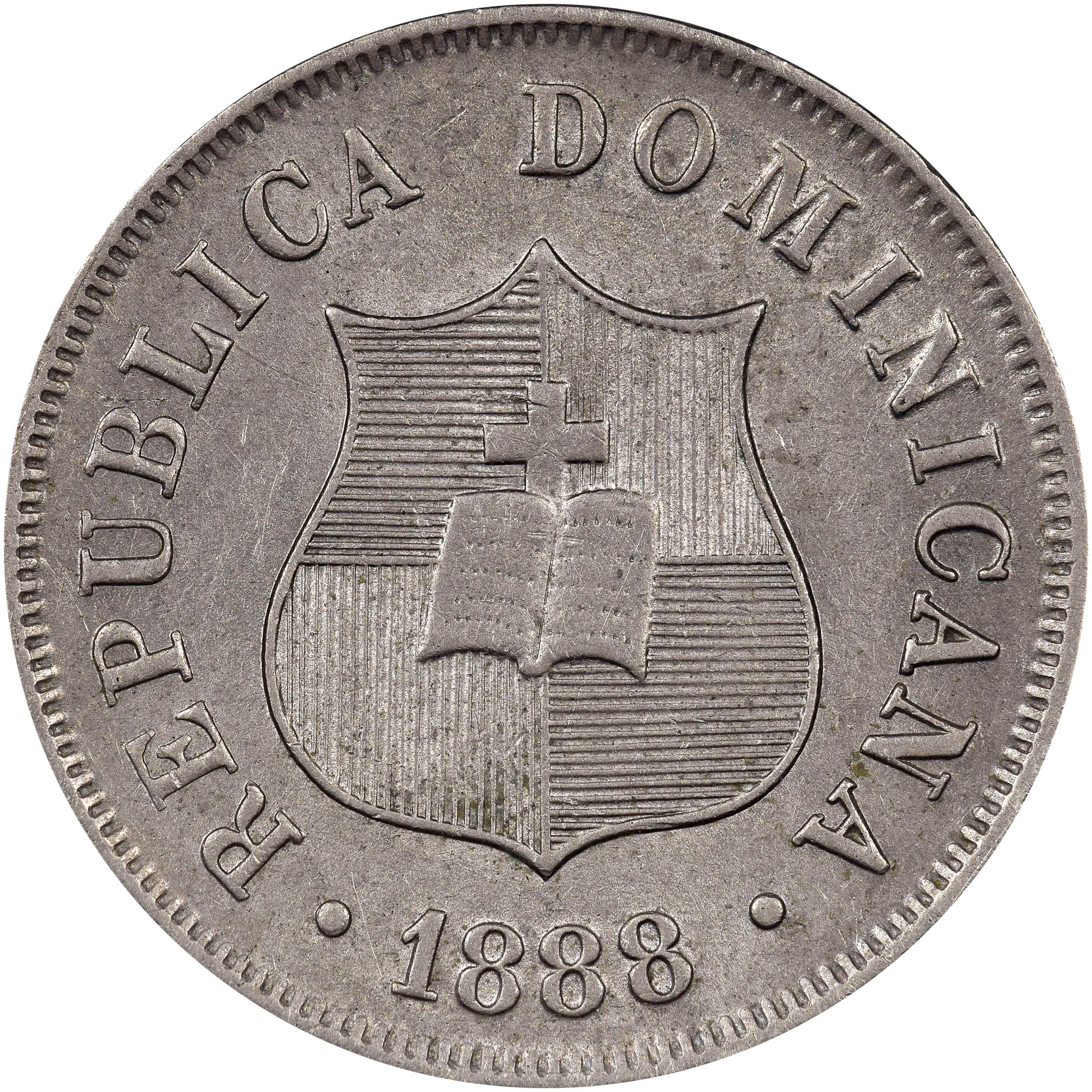 Dominican Republic 2-1/2 Centavos obverse