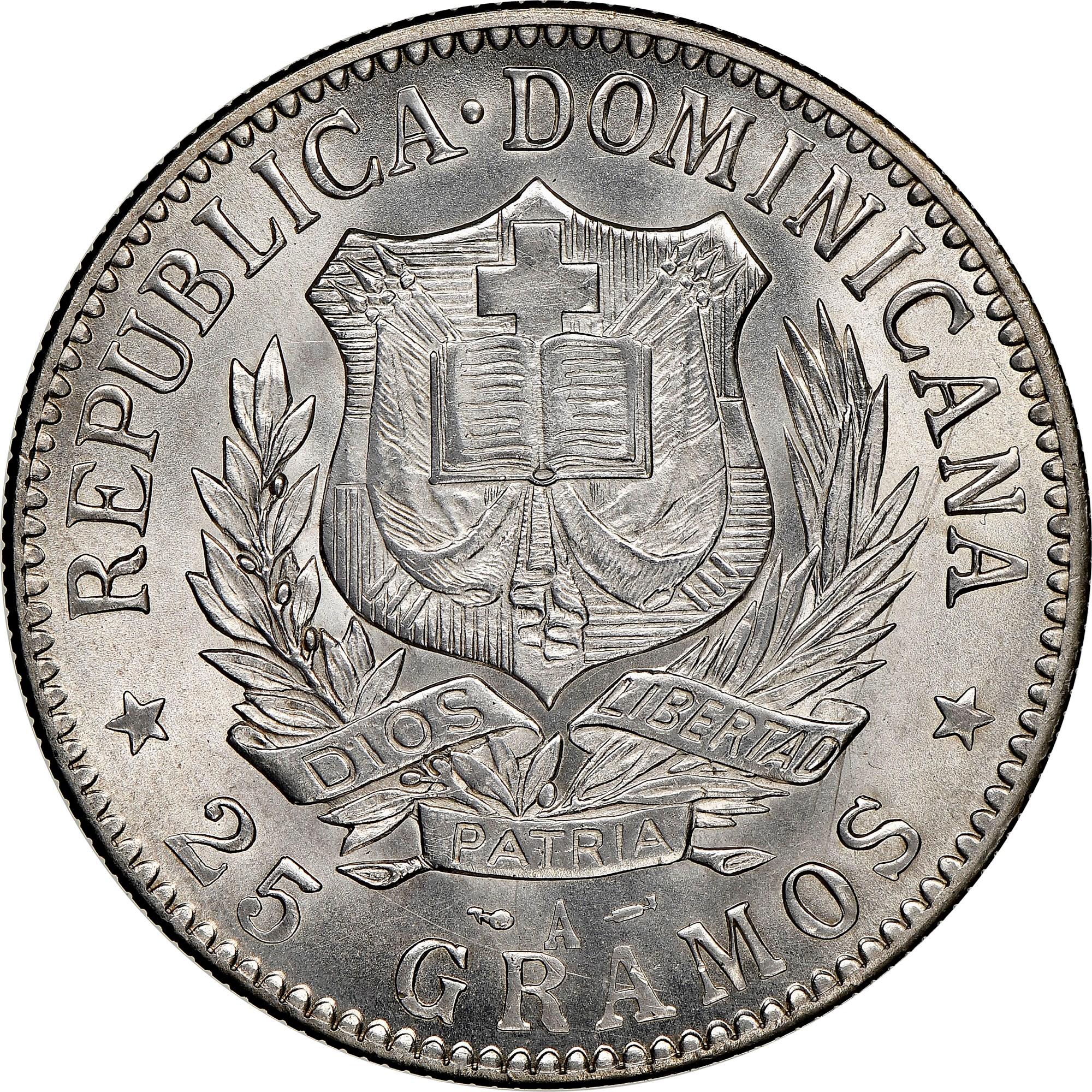 Dominican Republic Peso obverse