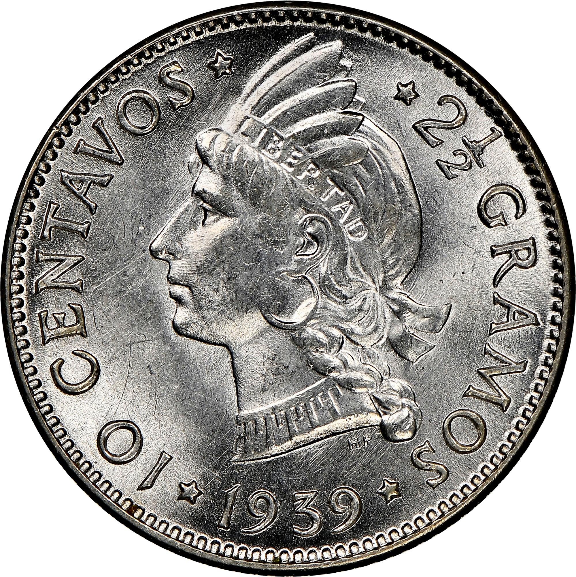 Dominican Republic 10 Centavos reverse