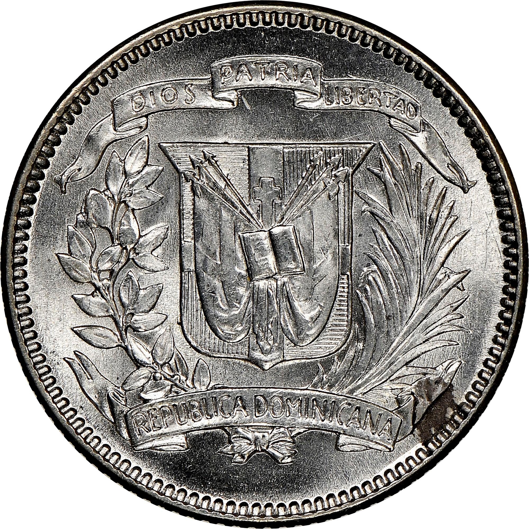 Dominican Republic 10 Centavos obverse