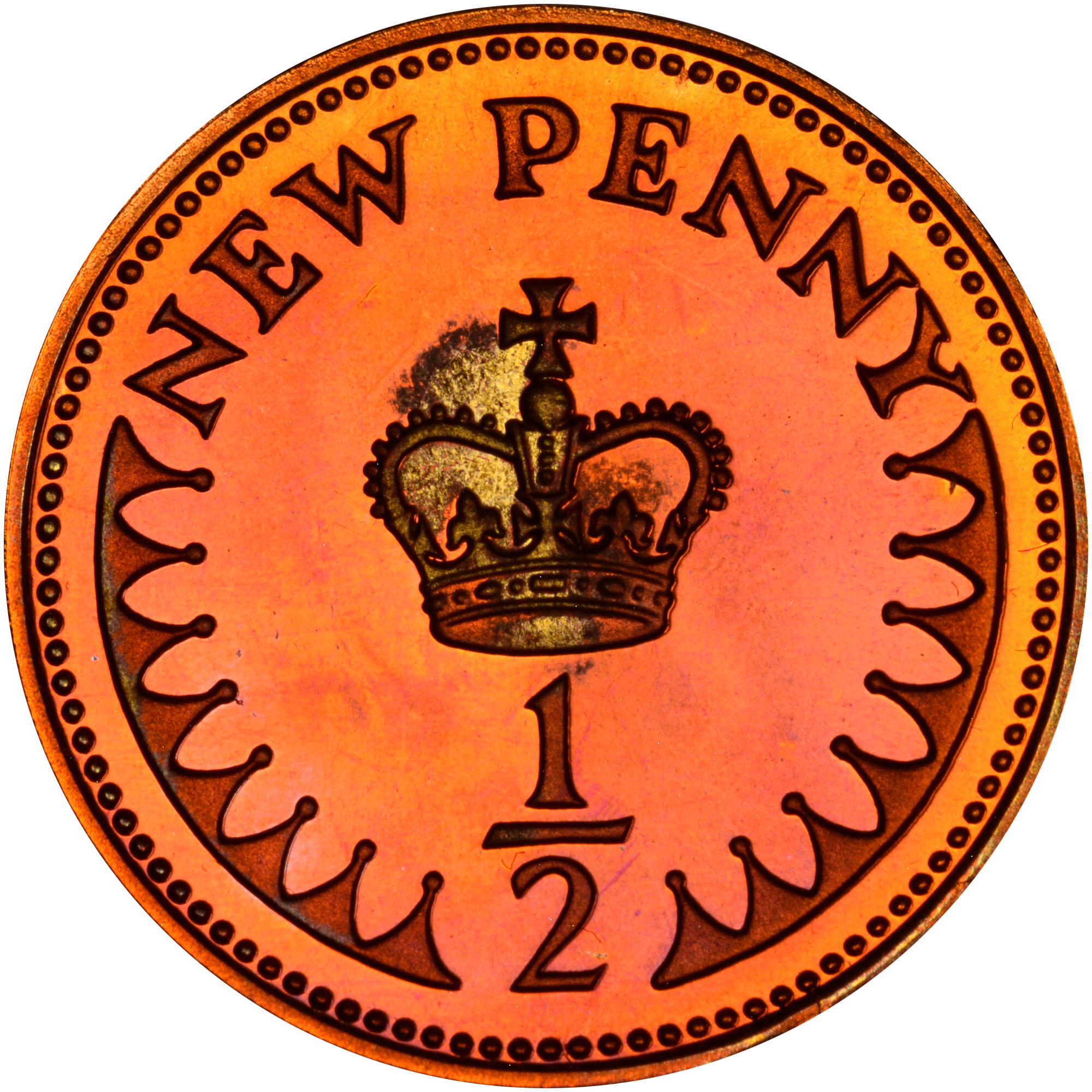 Great Britain 1/2 New Penny KM 914 Prices & Values | NGC