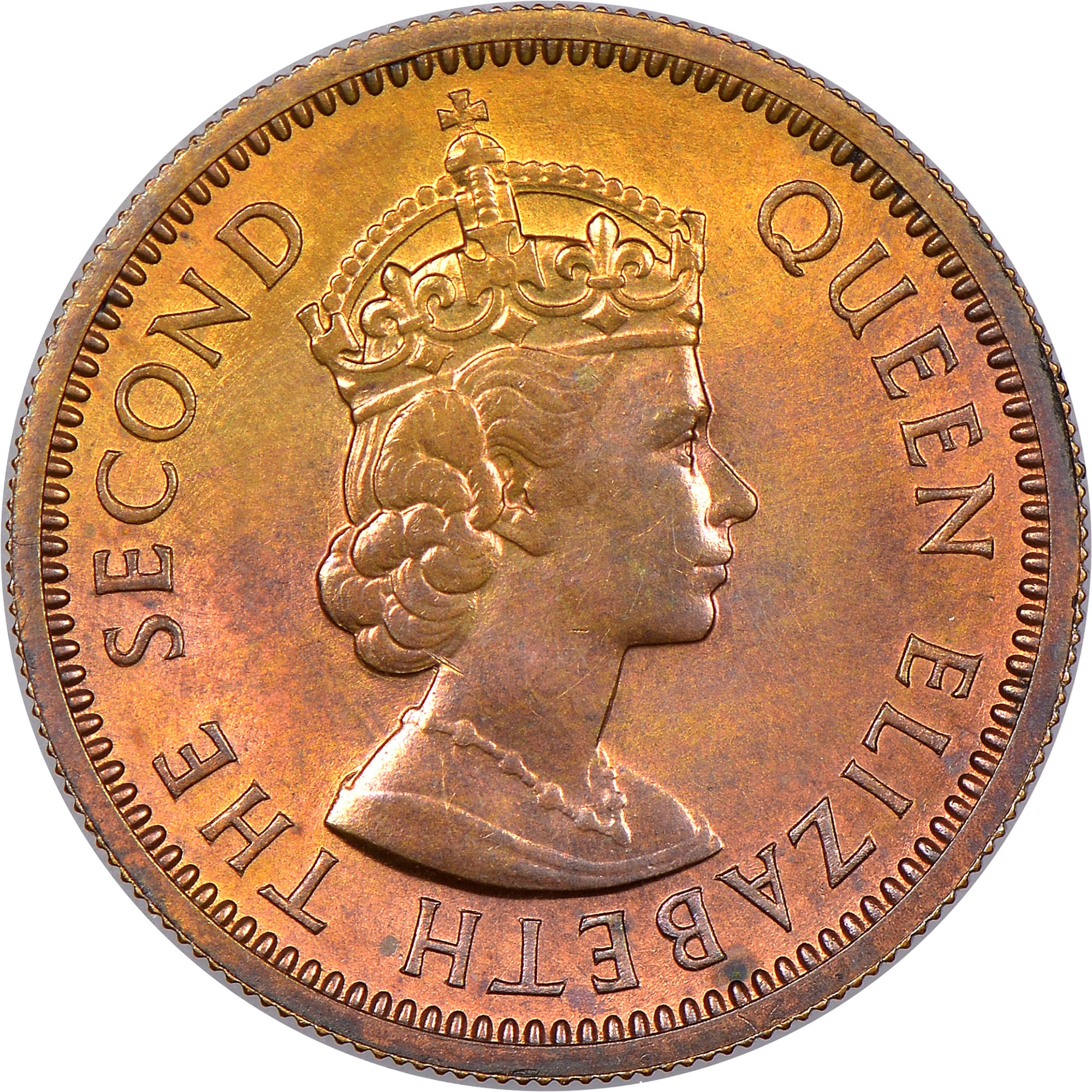 East Caribbean States 5 Cents obverse