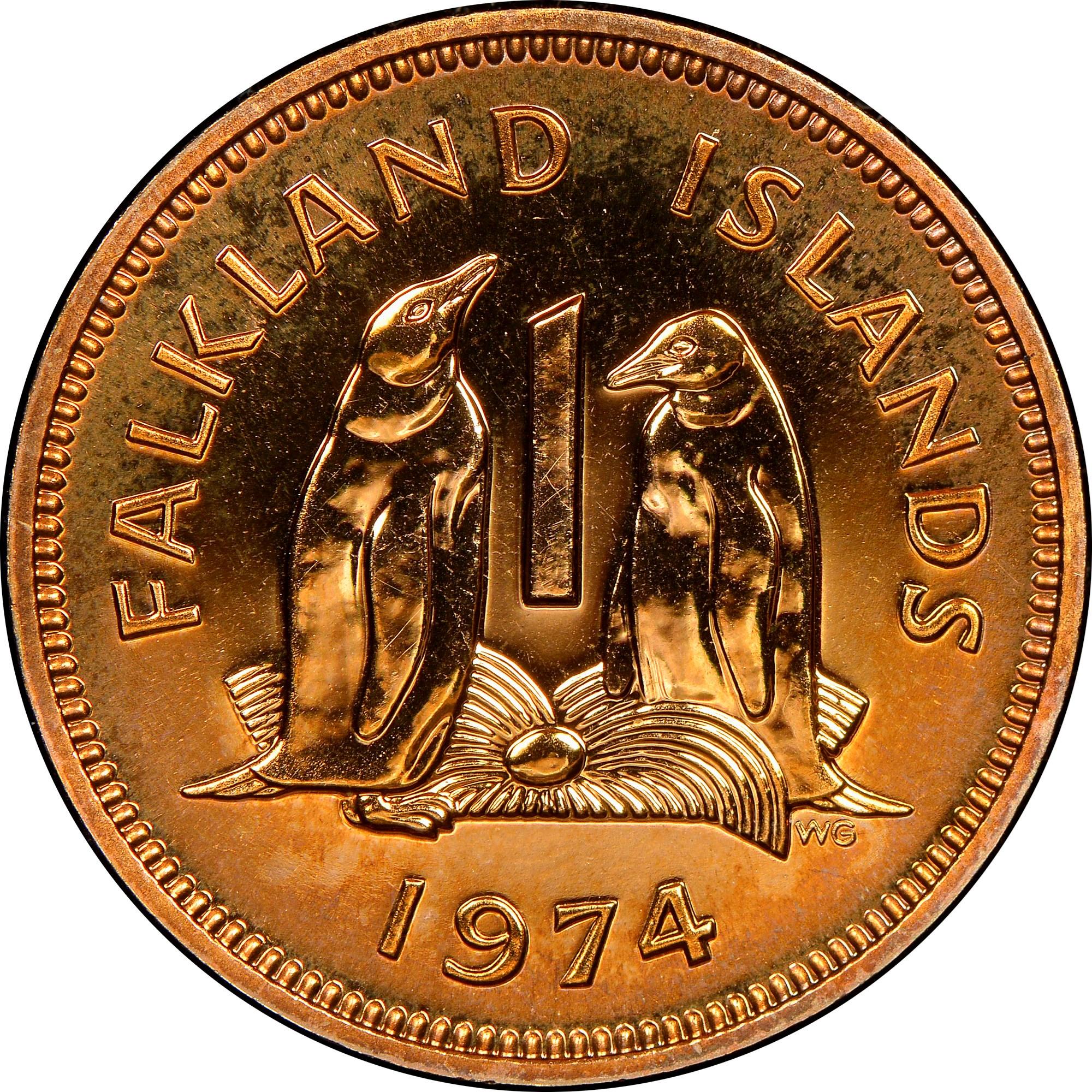 Falkland Islands Penny reverse