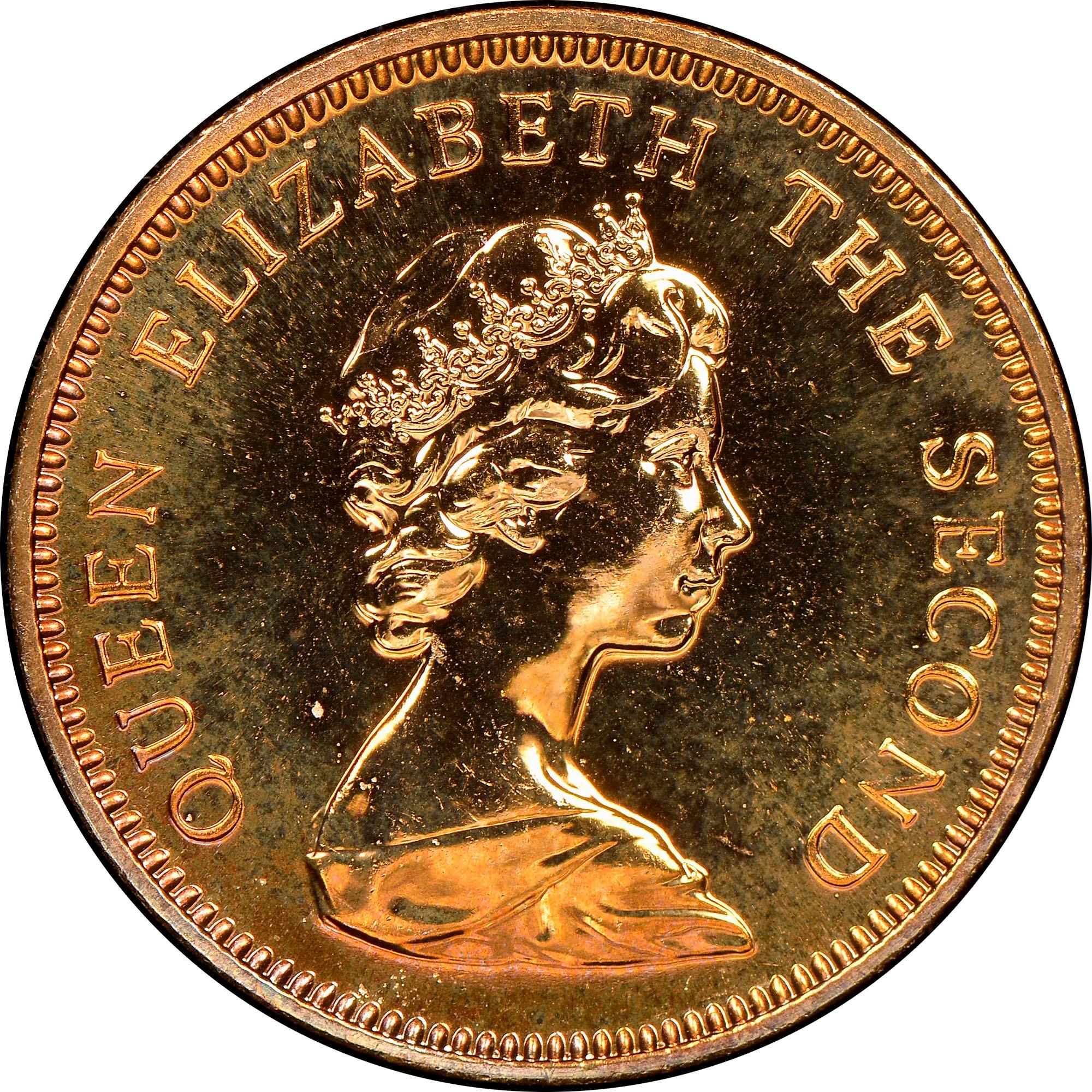 Falkland Islands Penny obverse