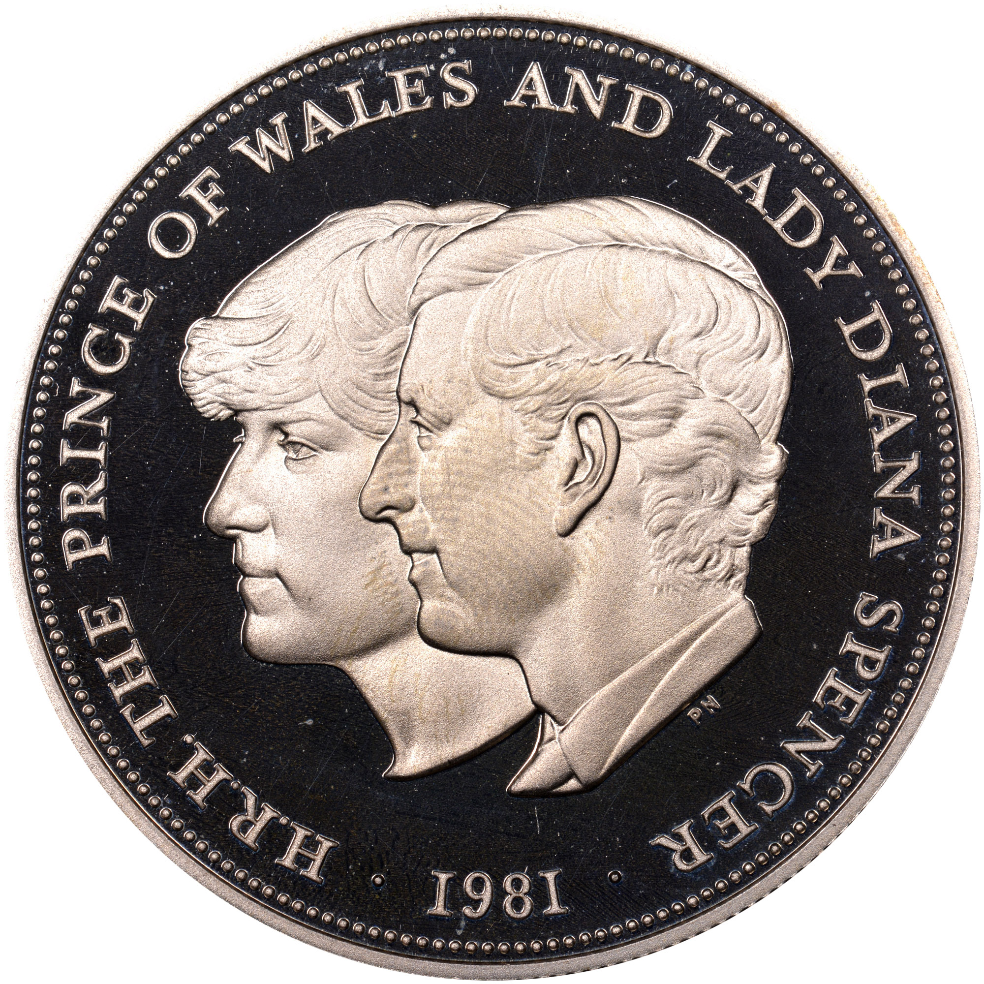 Great Britain 25 New Pence reverse