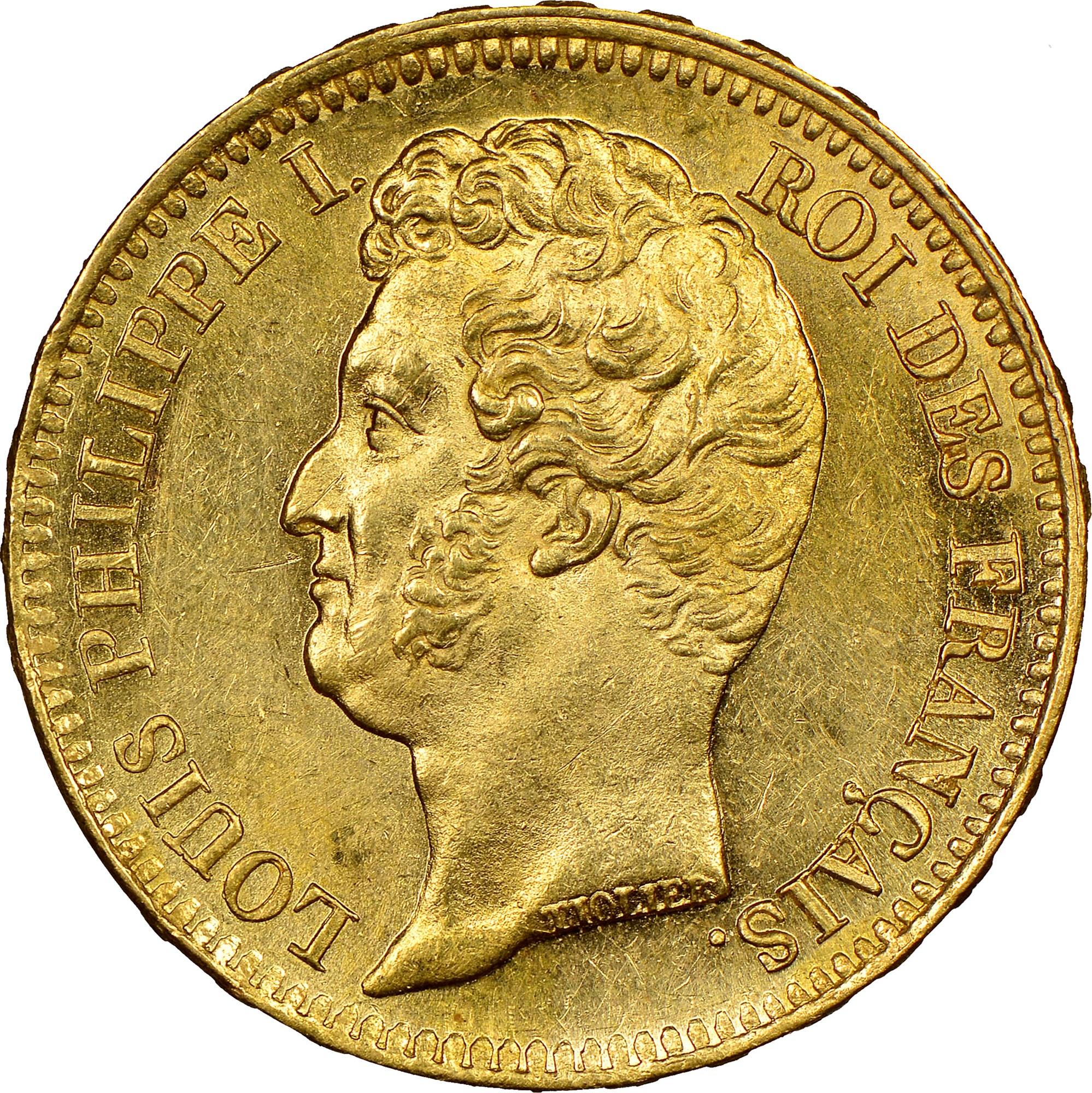 France 20 Francs obverse