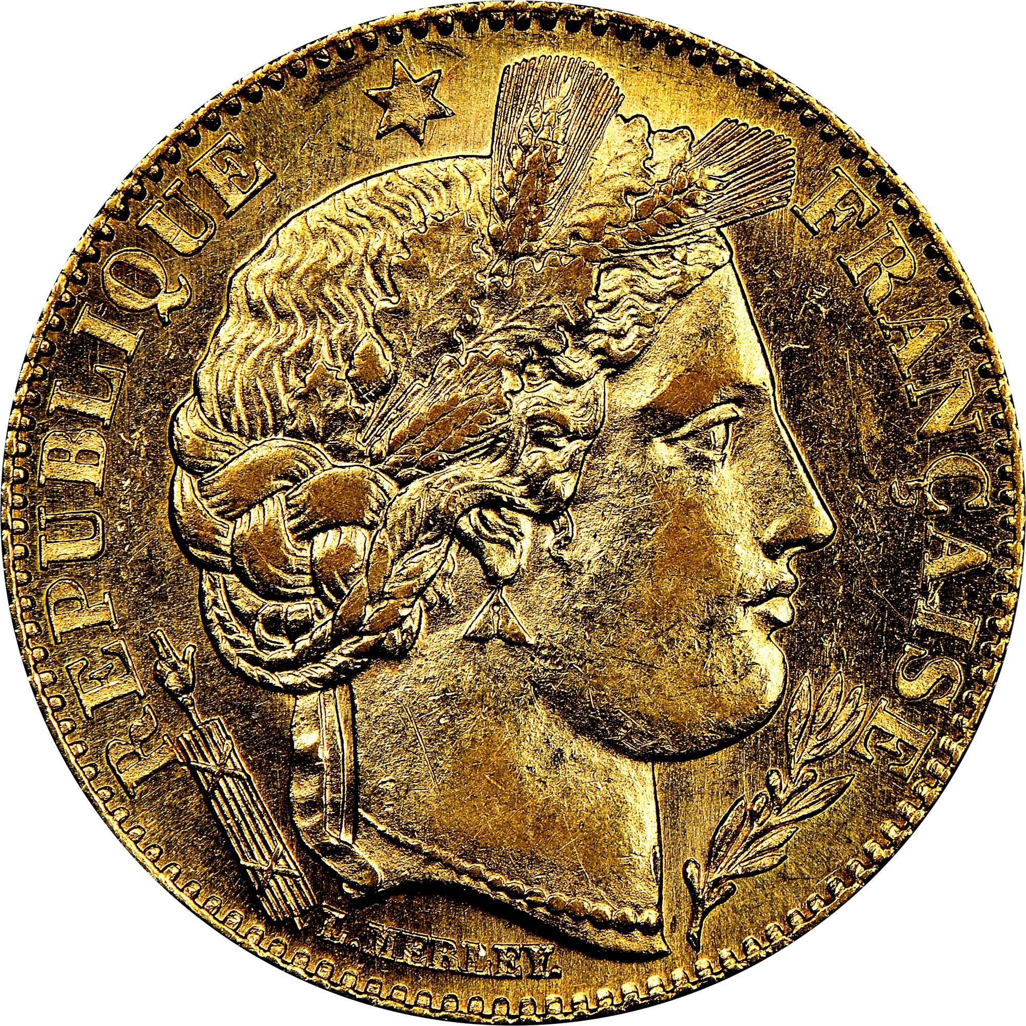 France 10 Francs obverse