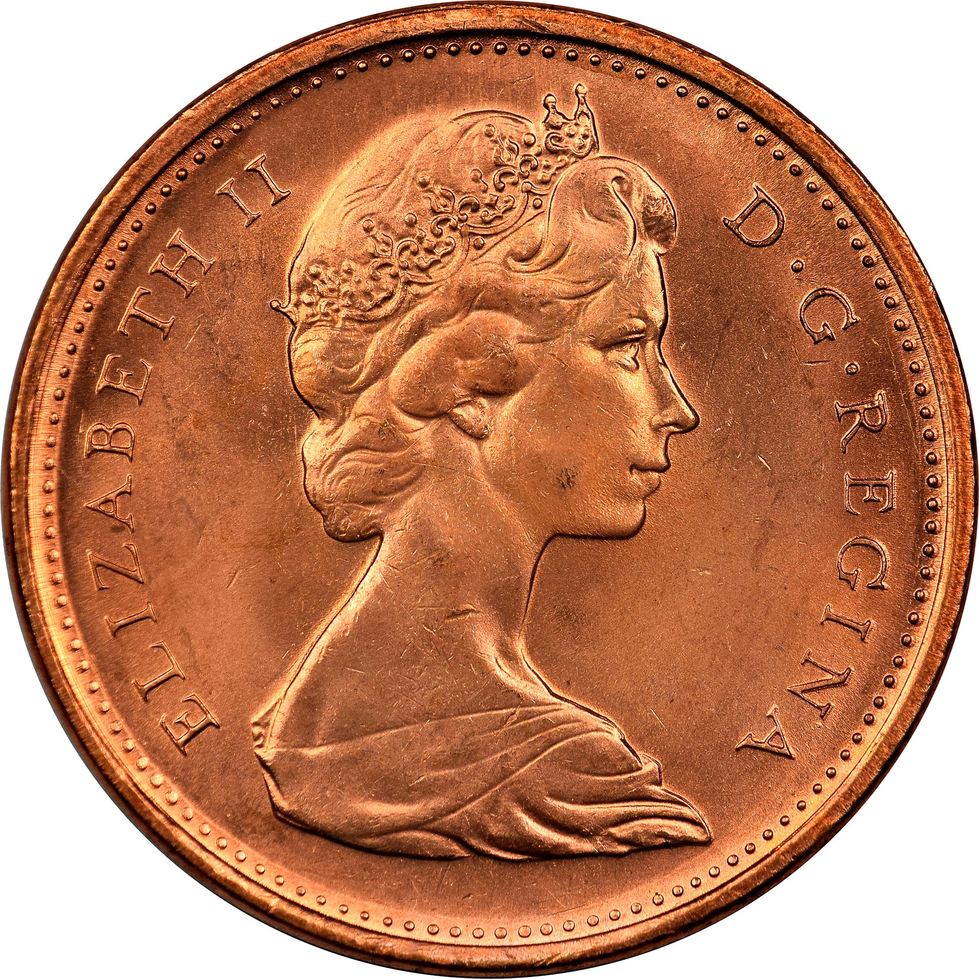 Canada Cent obverse