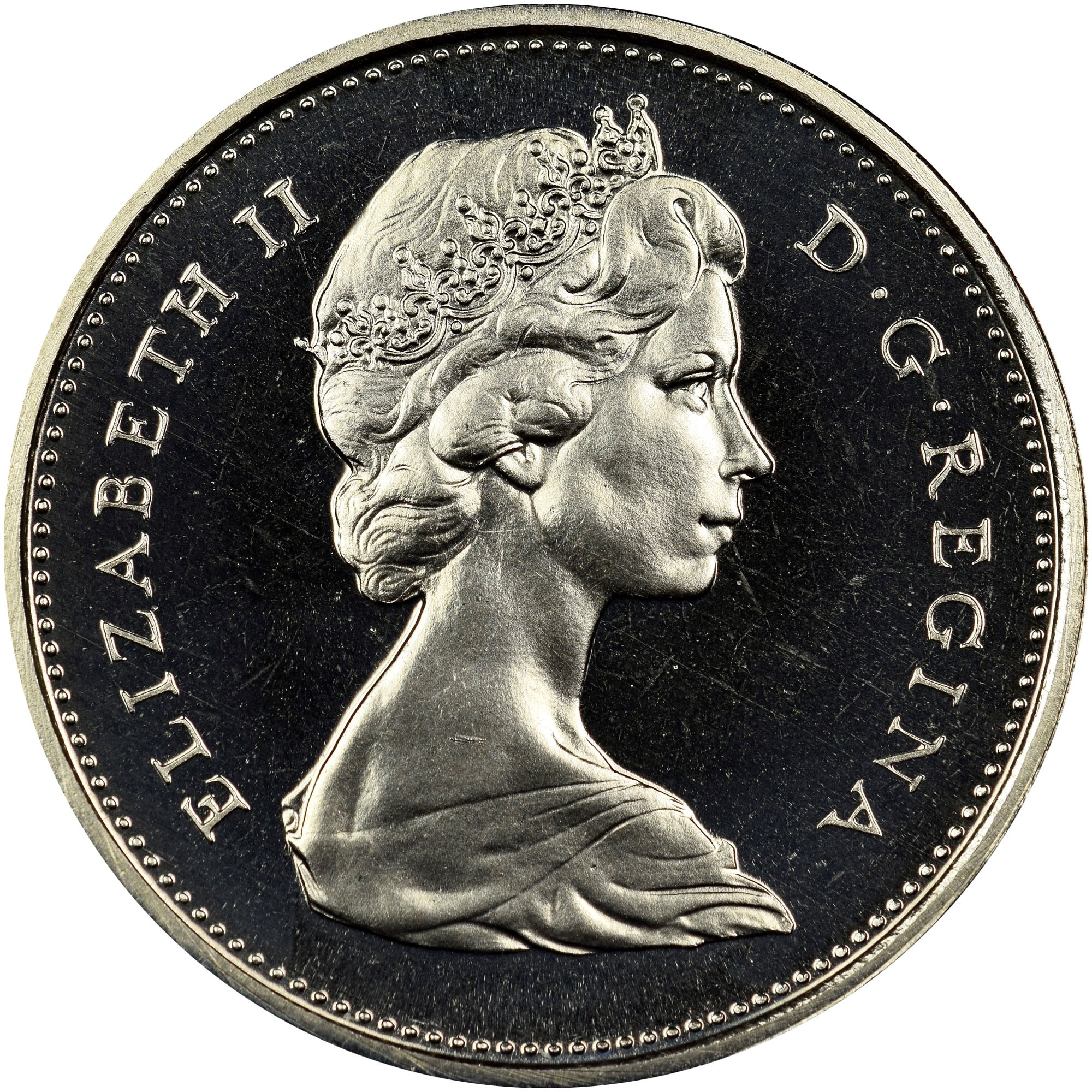Canada 25 Cents obverse