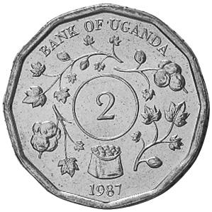 Uganda 2 Shillings reverse