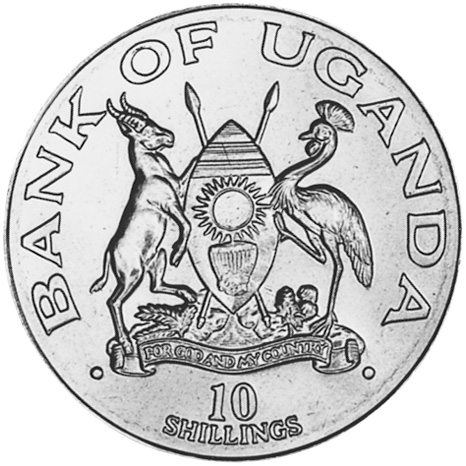 Uganda 10 Shillings obverse