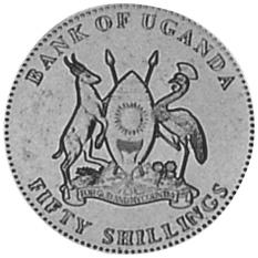 Uganda 50 Shillings obverse