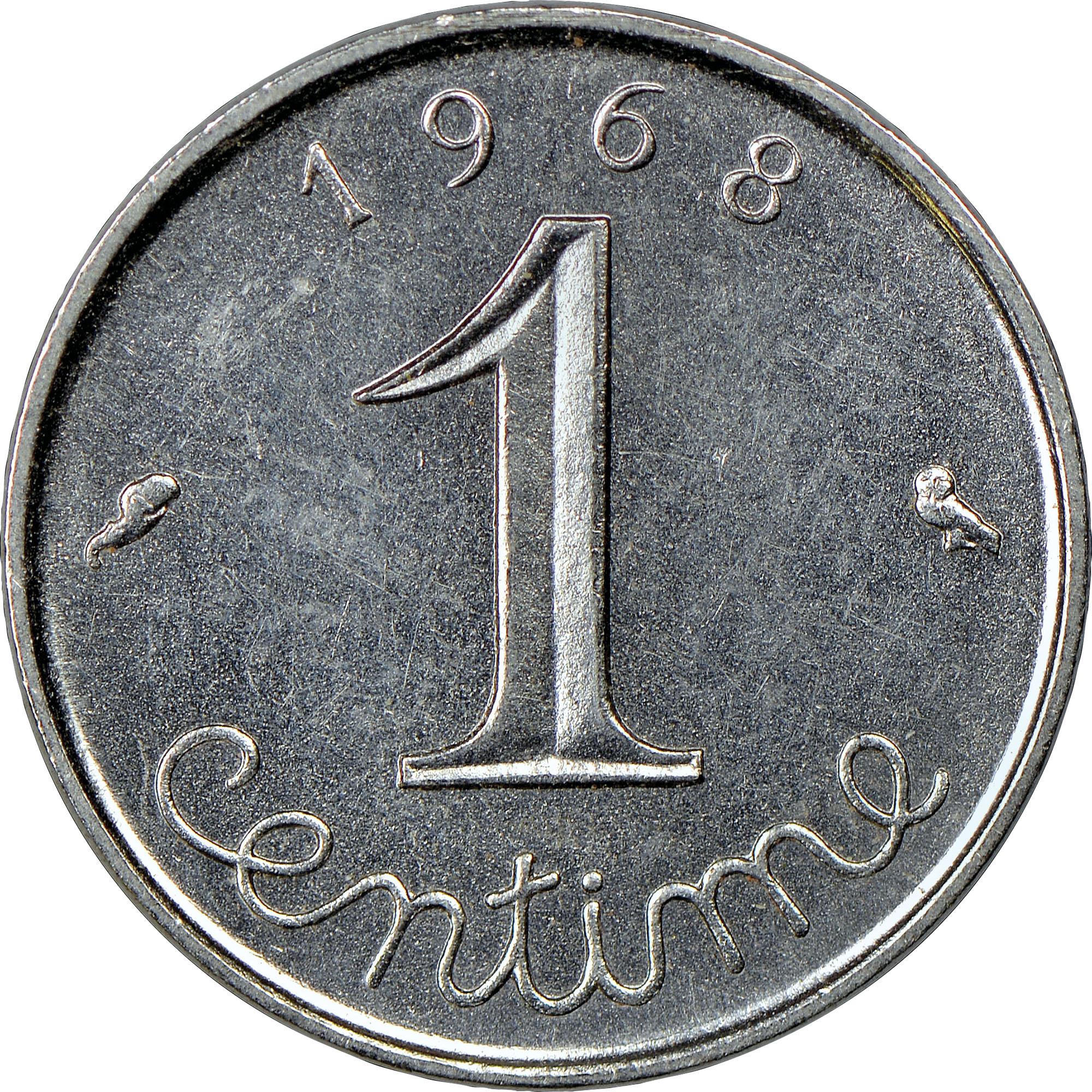 France Centime reverse