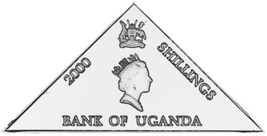 Uganda 2000 Shillings obverse