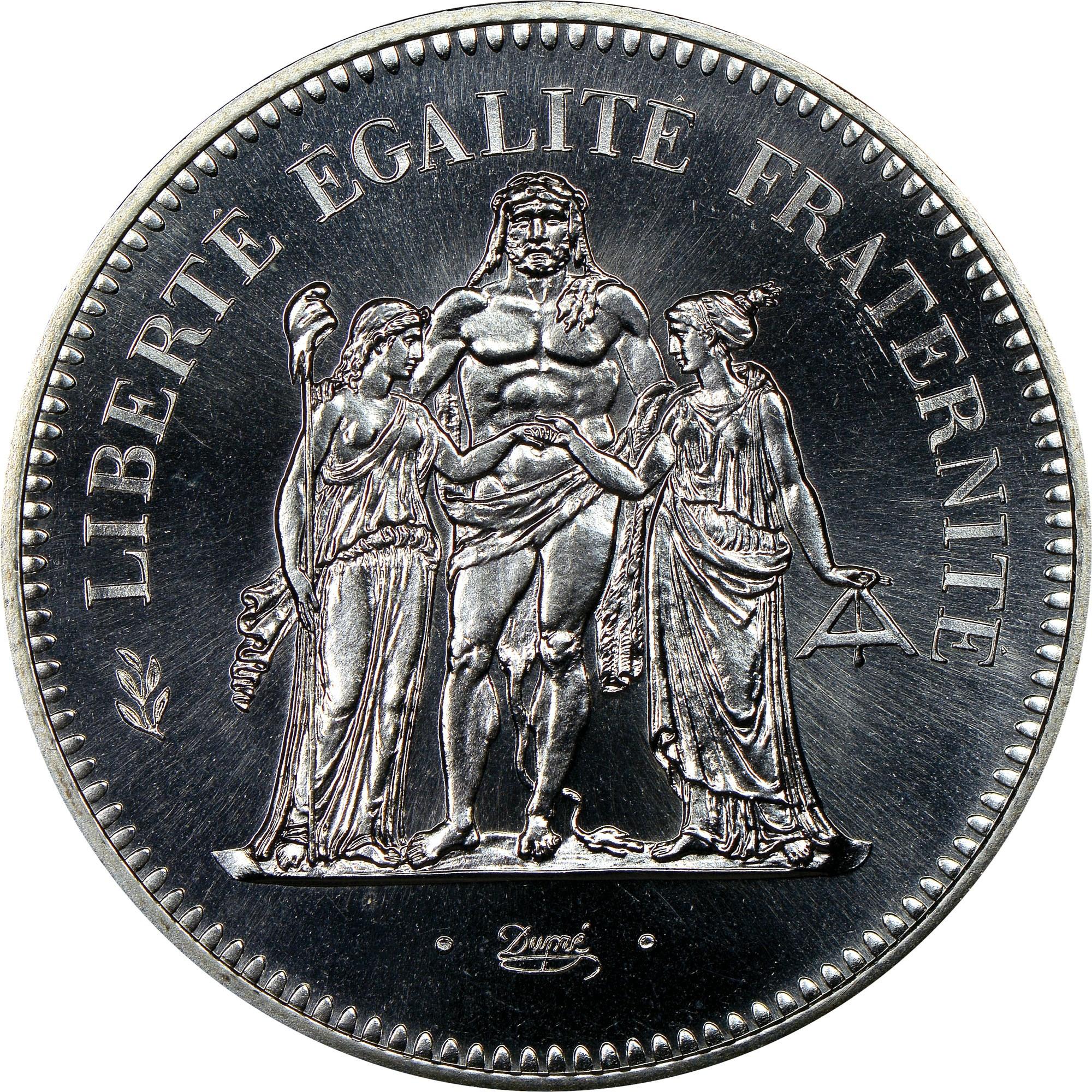 France 50 Francs reverse