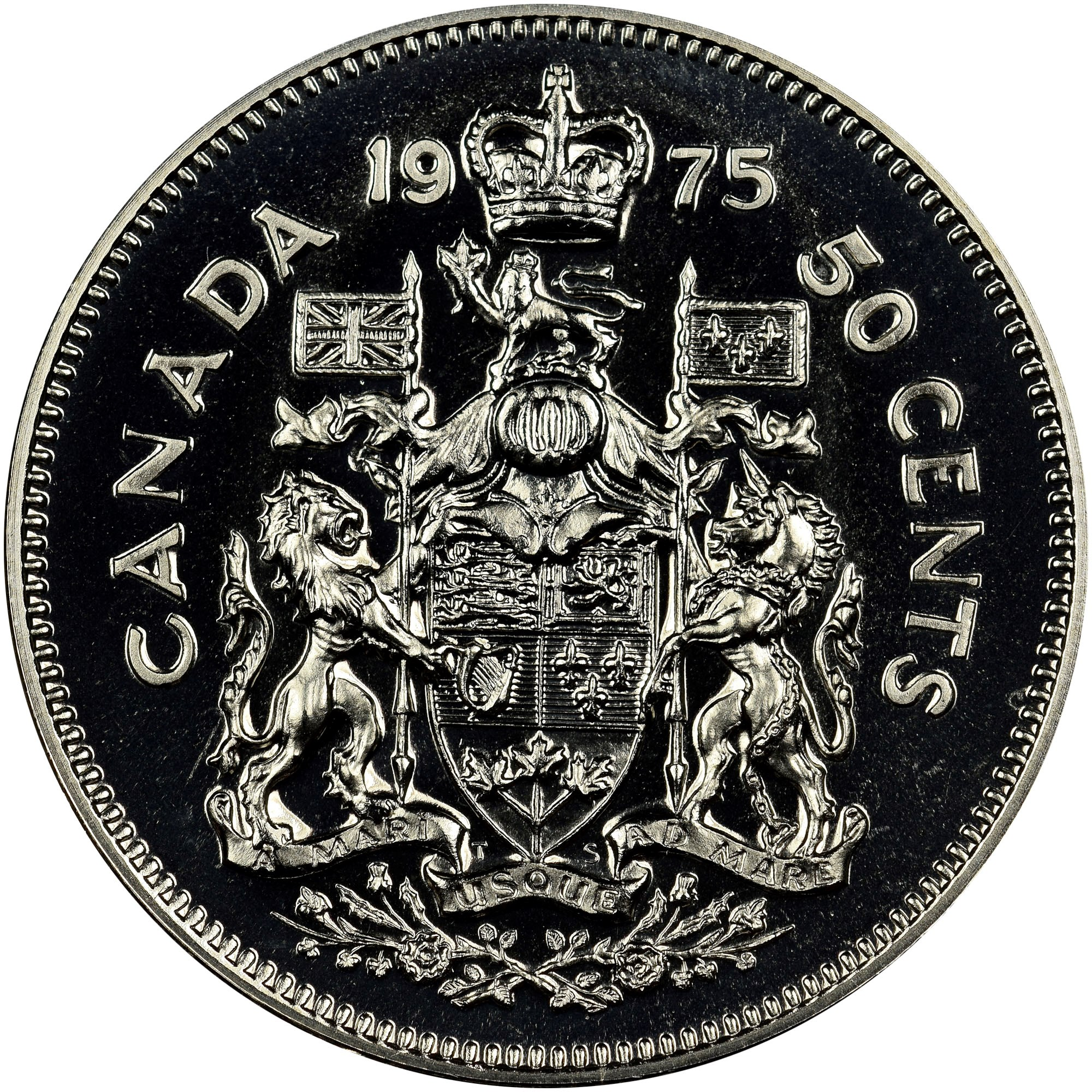 Canada 50 Cents reverse