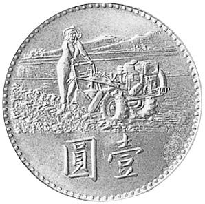 China, Taiwan Region Yuan reverse