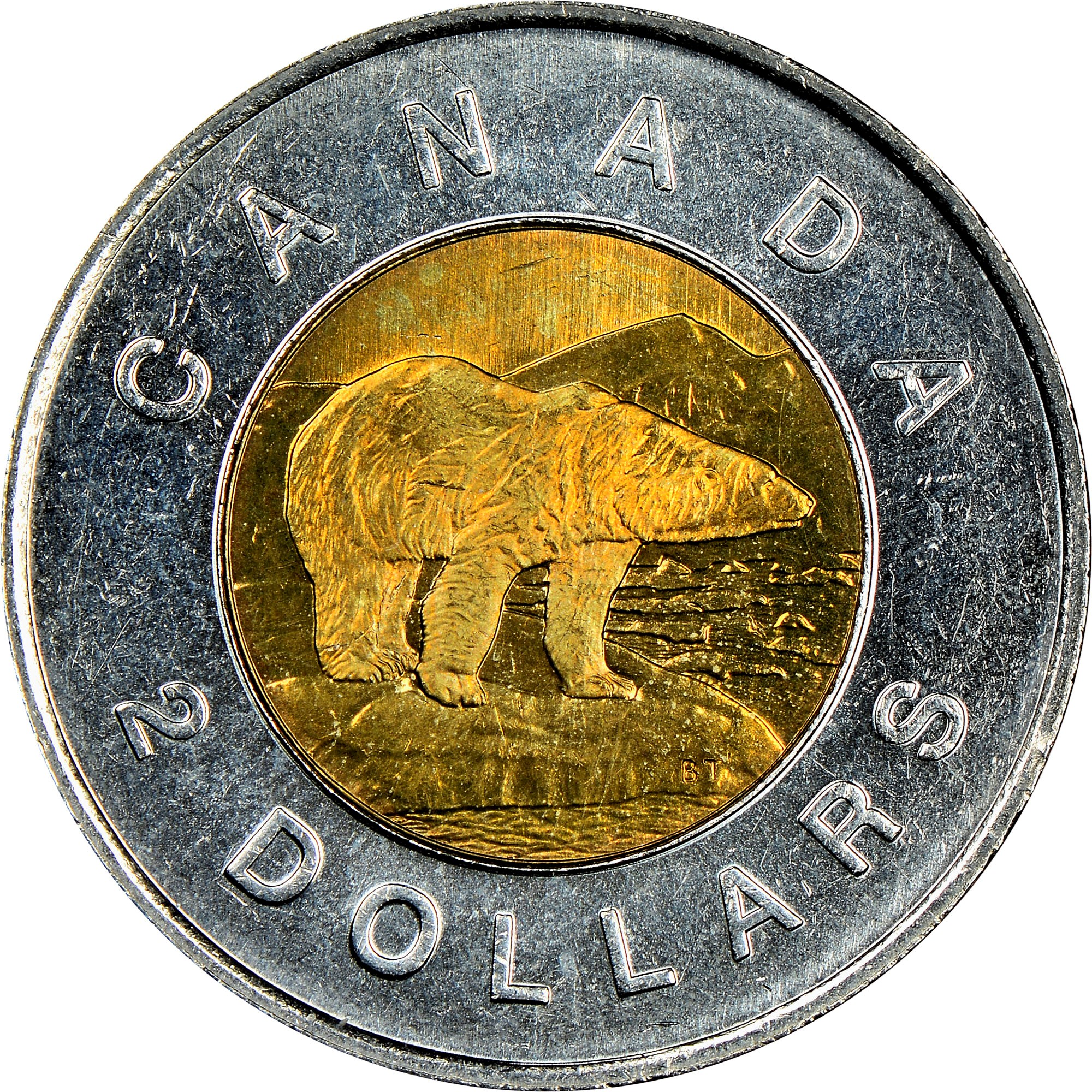Canada 2 Dollars reverse