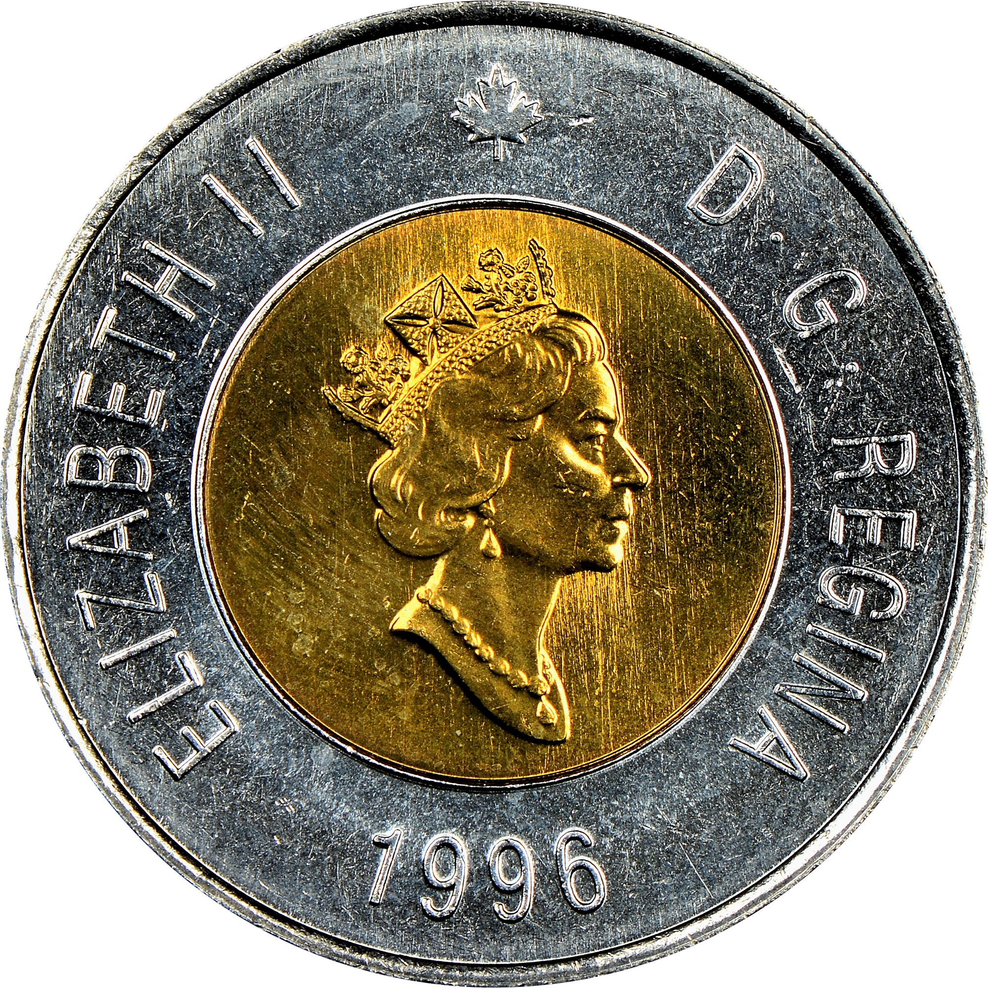 Canada 2 Dollars obverse