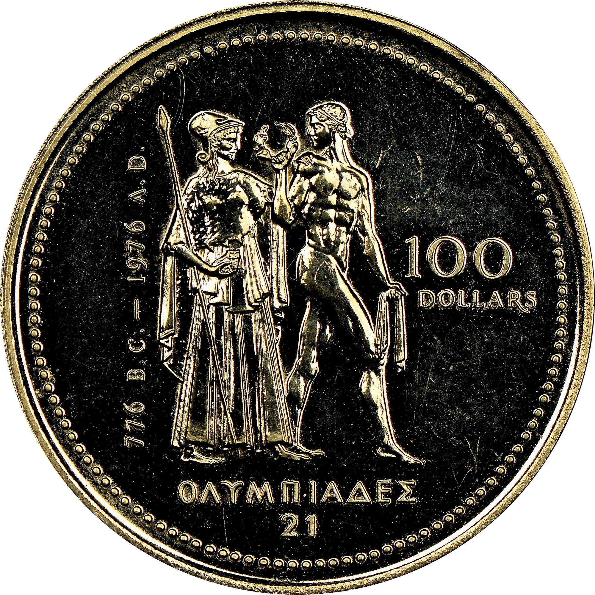 Canada 100 Dollars reverse
