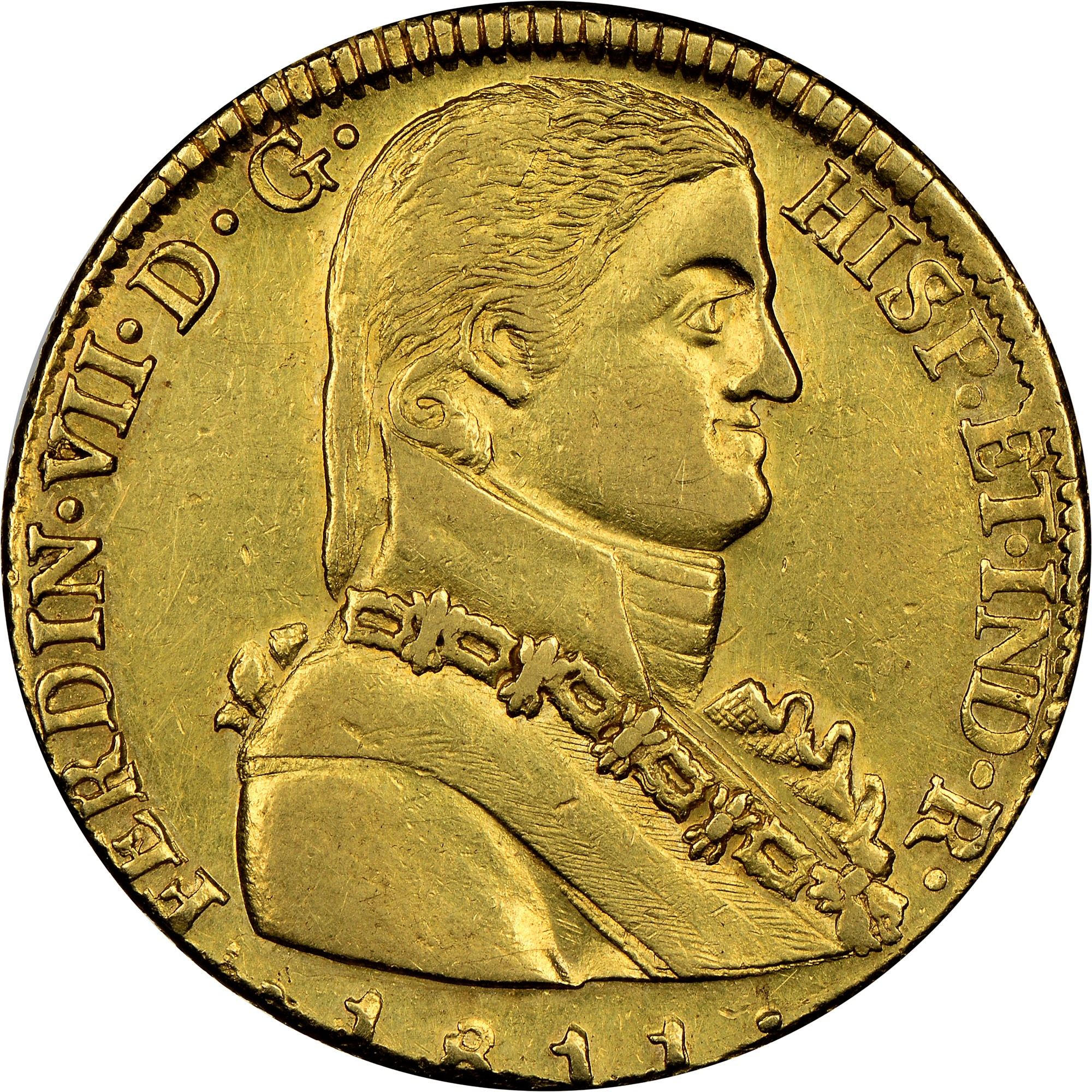 Chile 8 Escudos obverse