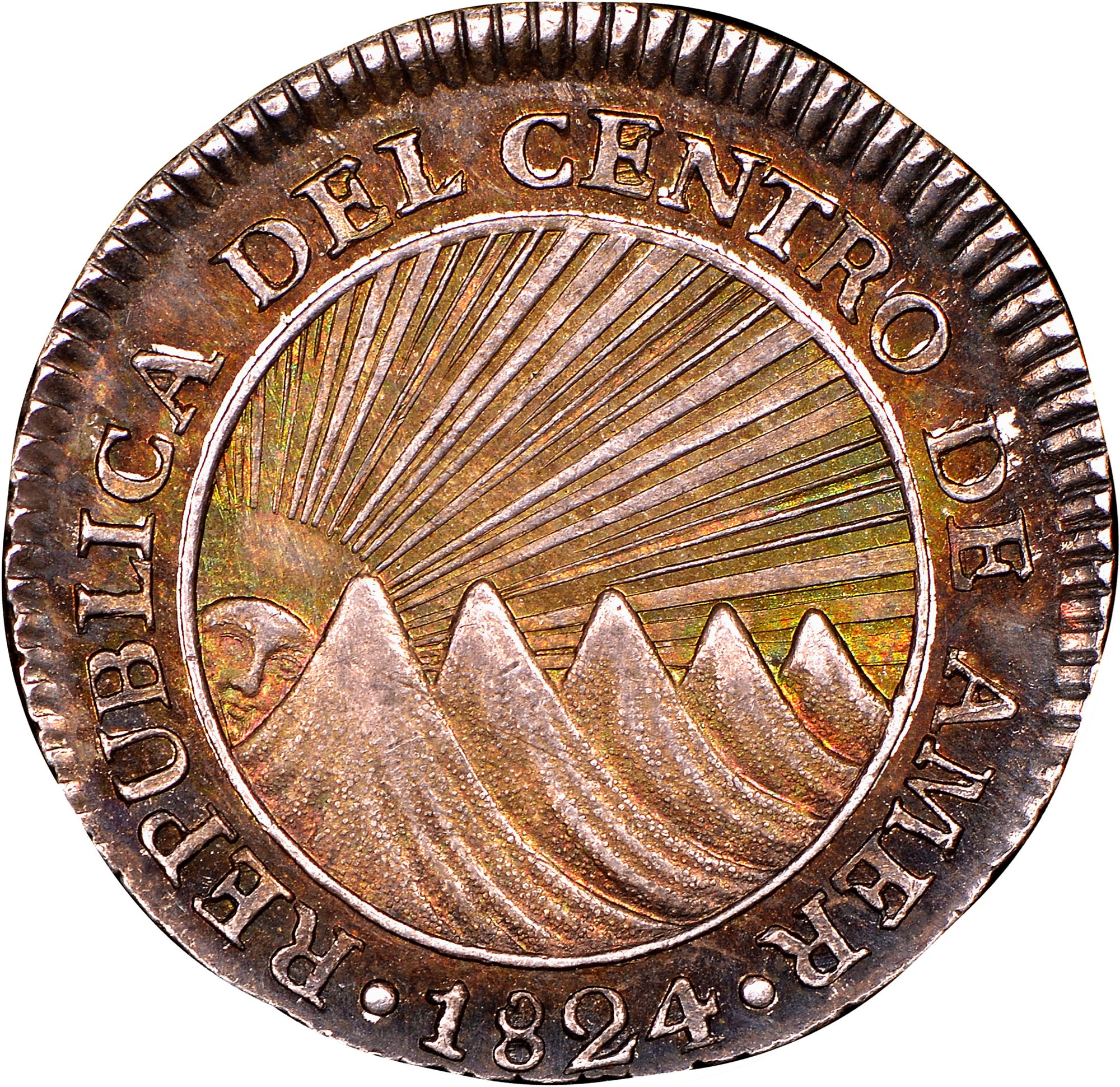 Central American Republic Real obverse