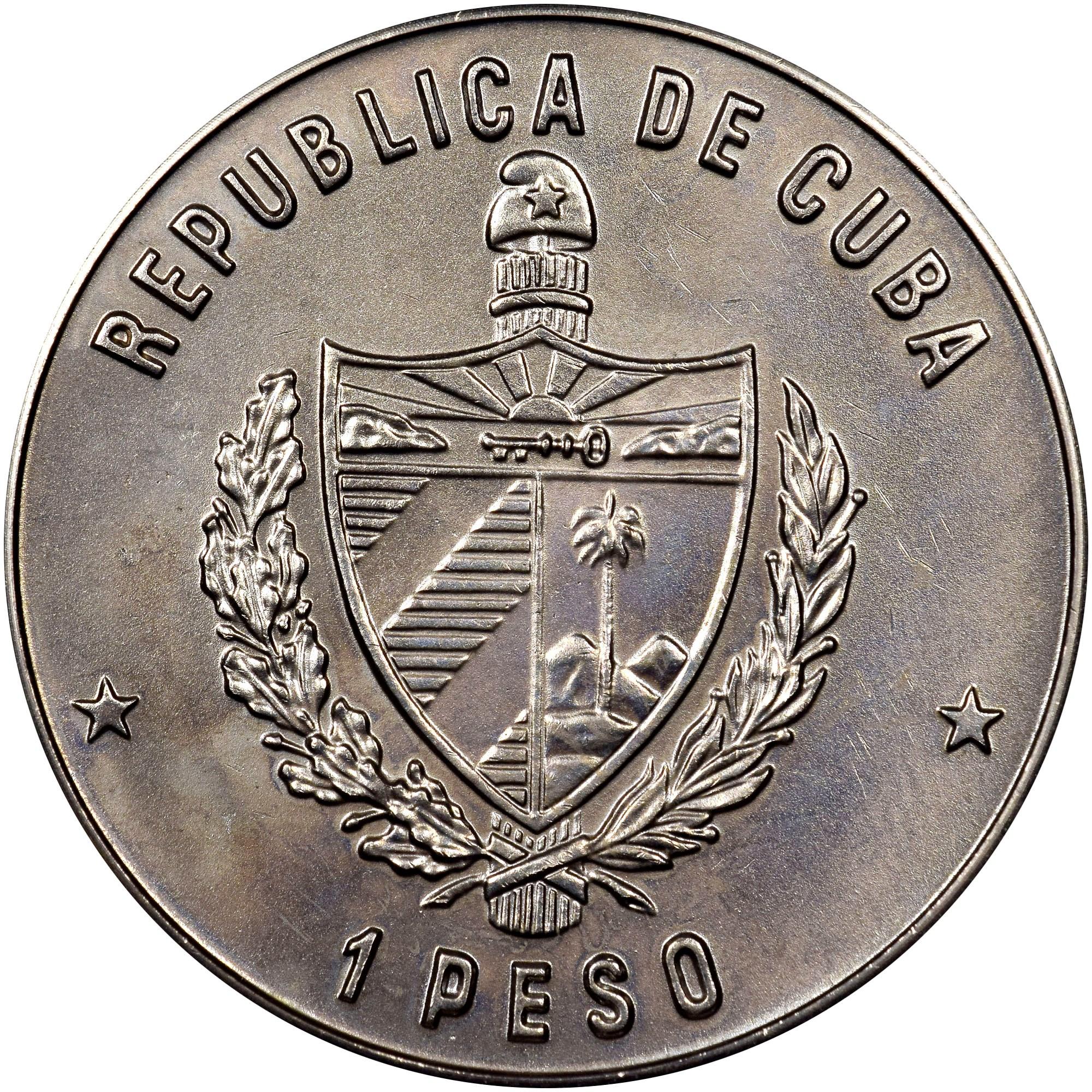 Cuba Peso obverse
