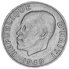 Haiti 10 Centimes obverse