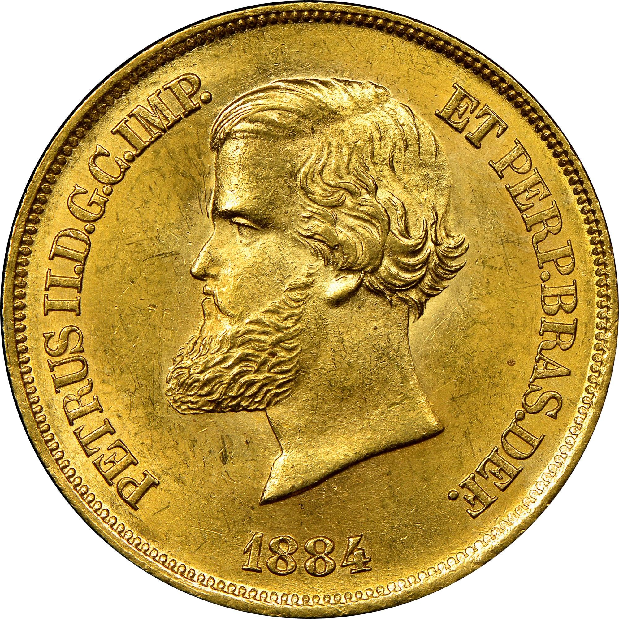 Brazil 10000 Reis obverse