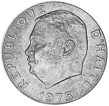 Haiti 50 Centimes obverse