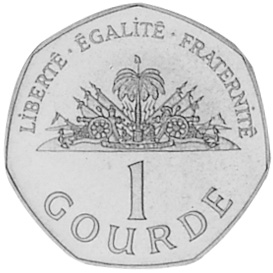 Haiti Gourde reverse