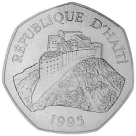 Haiti Gourde obverse