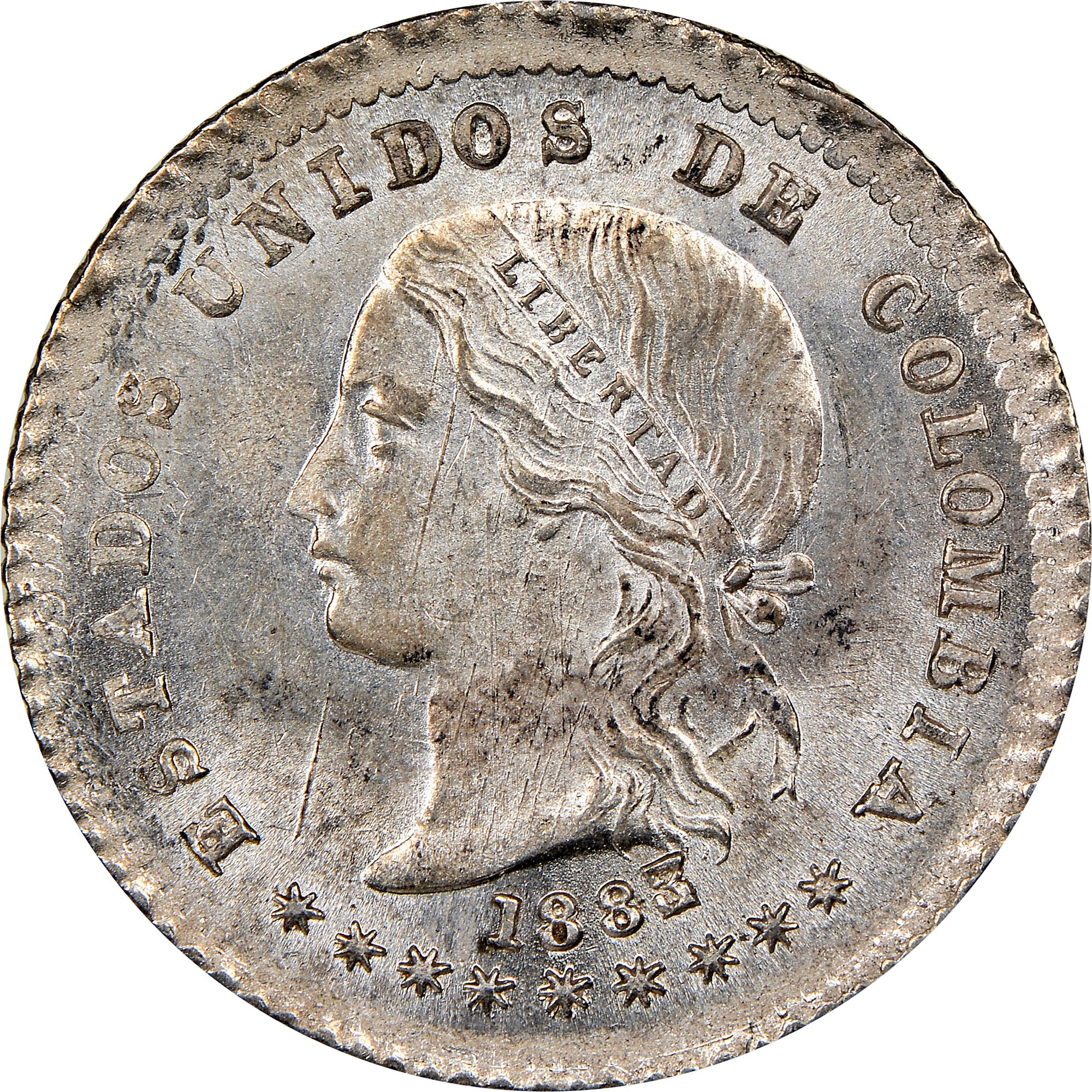 Colombia 10 Centavos obverse