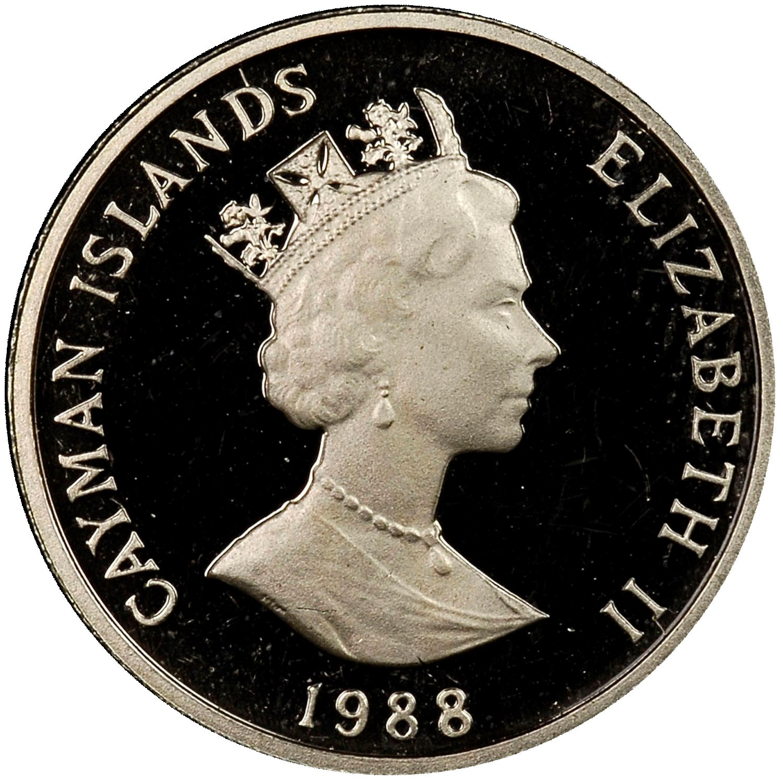 Cayman Islands 10 Cents obverse