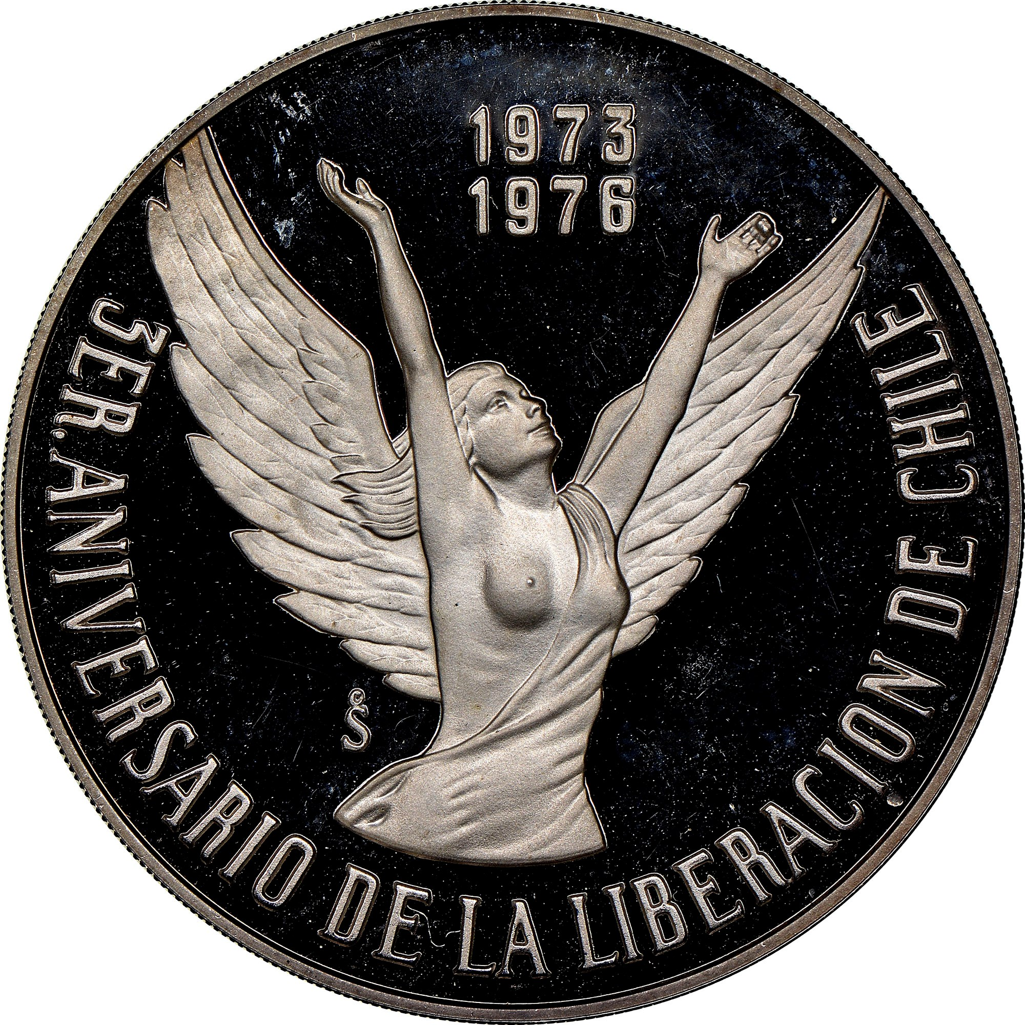 Chile 10 Pesos obverse