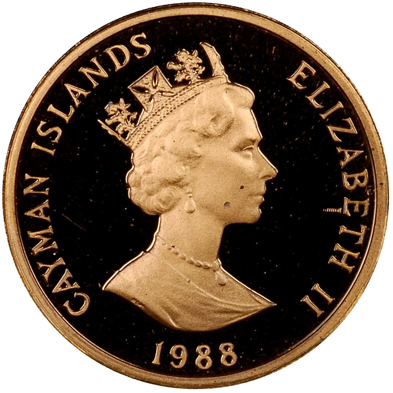 Cayman Islands Cent obverse