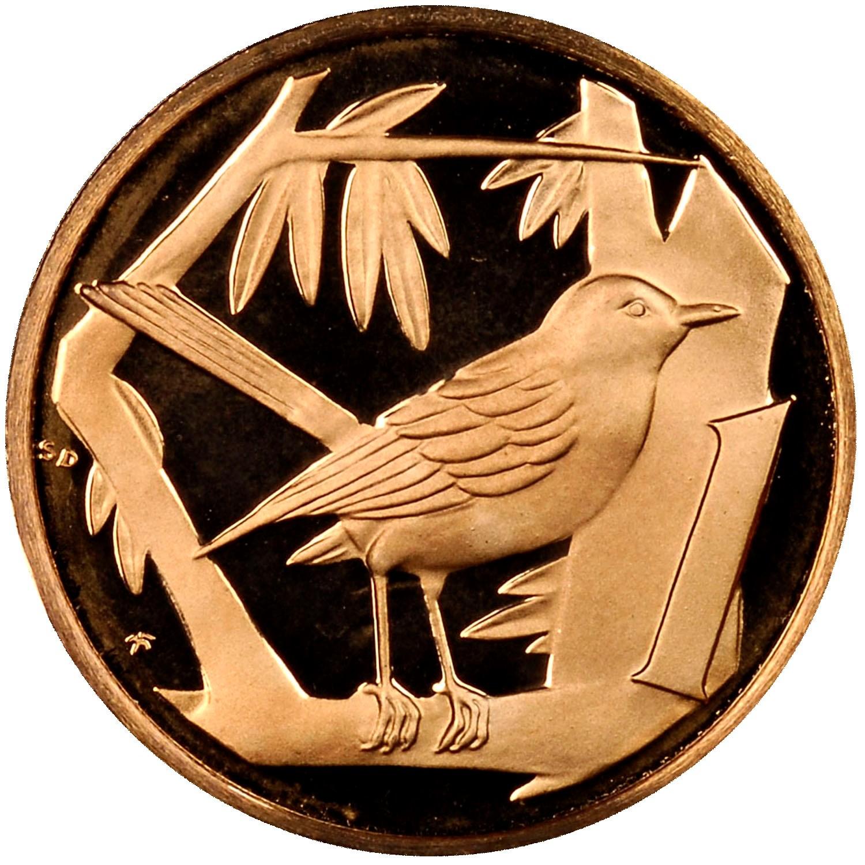Cayman Islands Cent reverse
