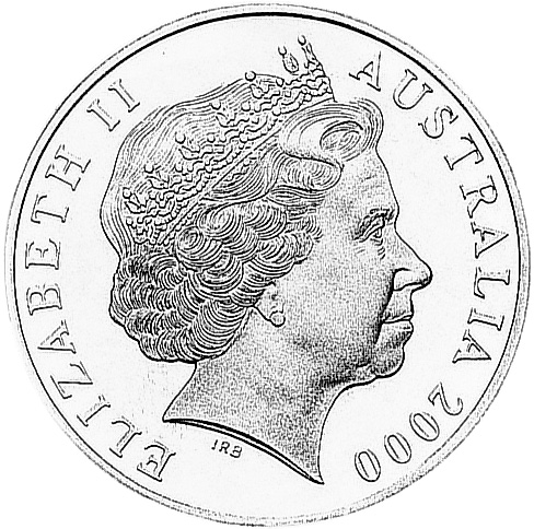 2000 Australia Dollar obverse