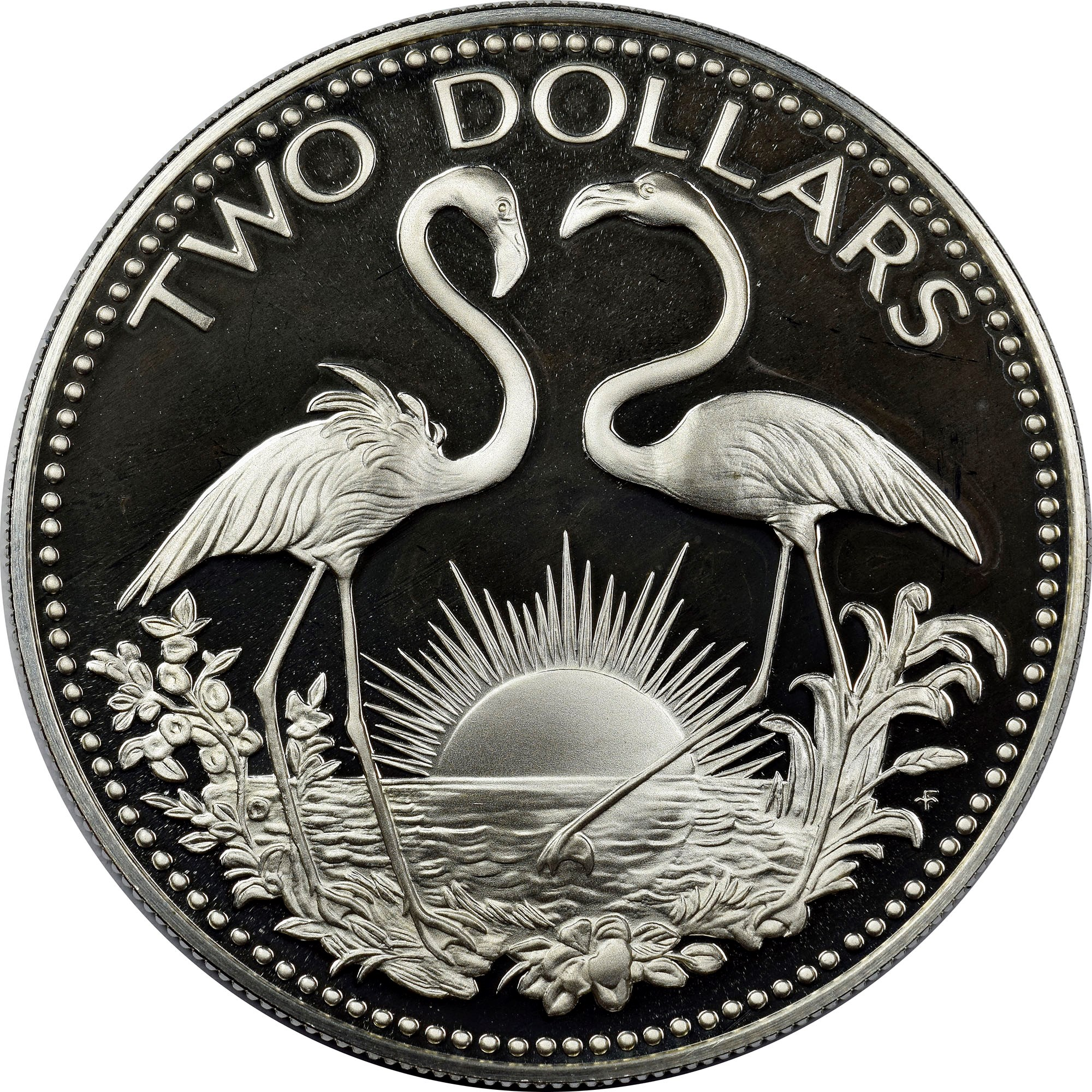 Bahamas 2 Dollars reverse