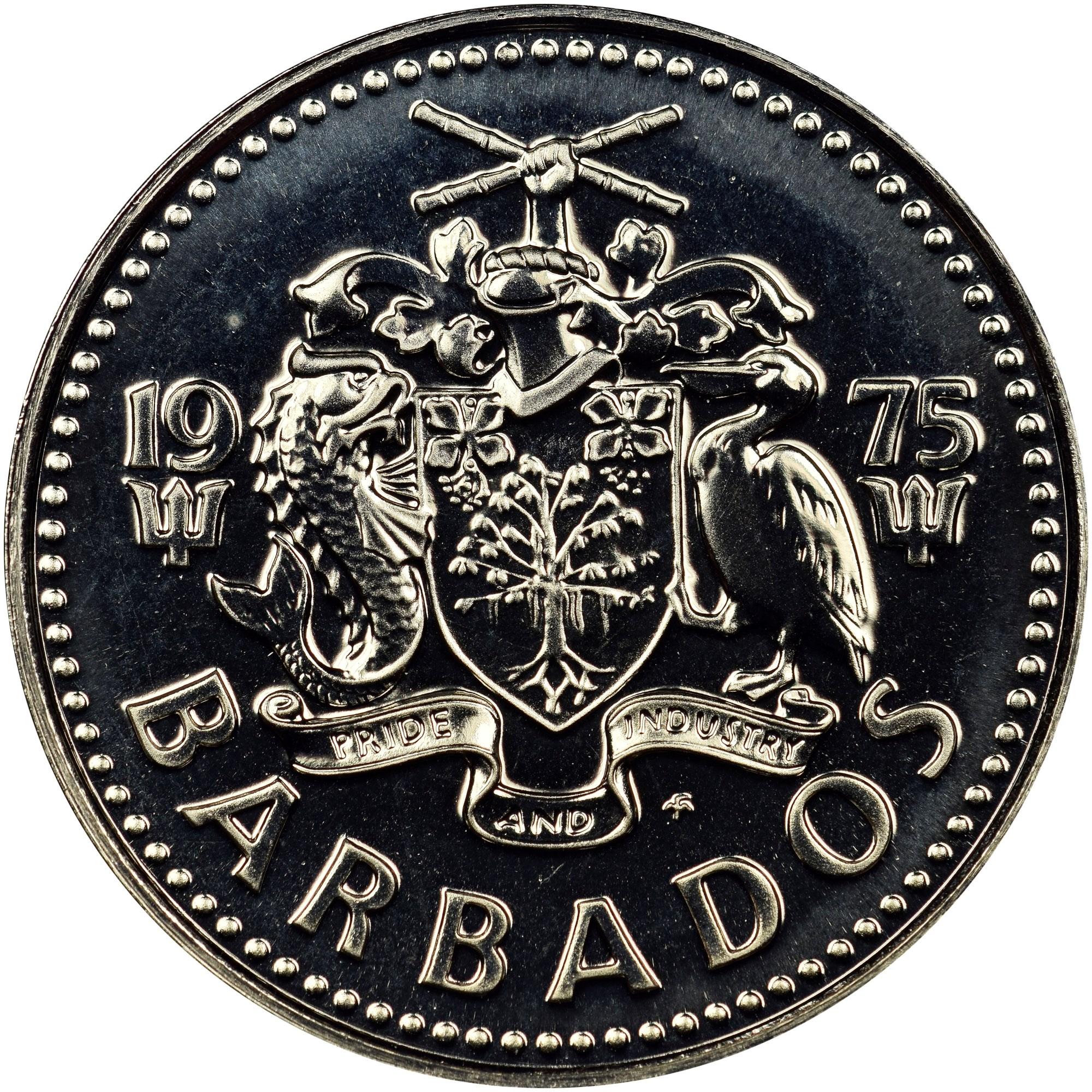 Barbados 10 Cents obverse