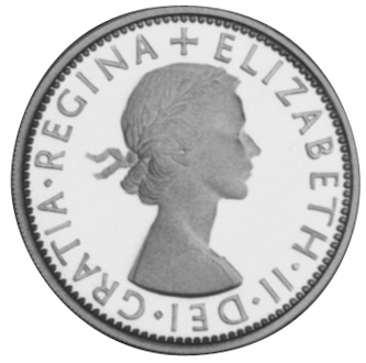 2000 Australia 20 Cents reverse