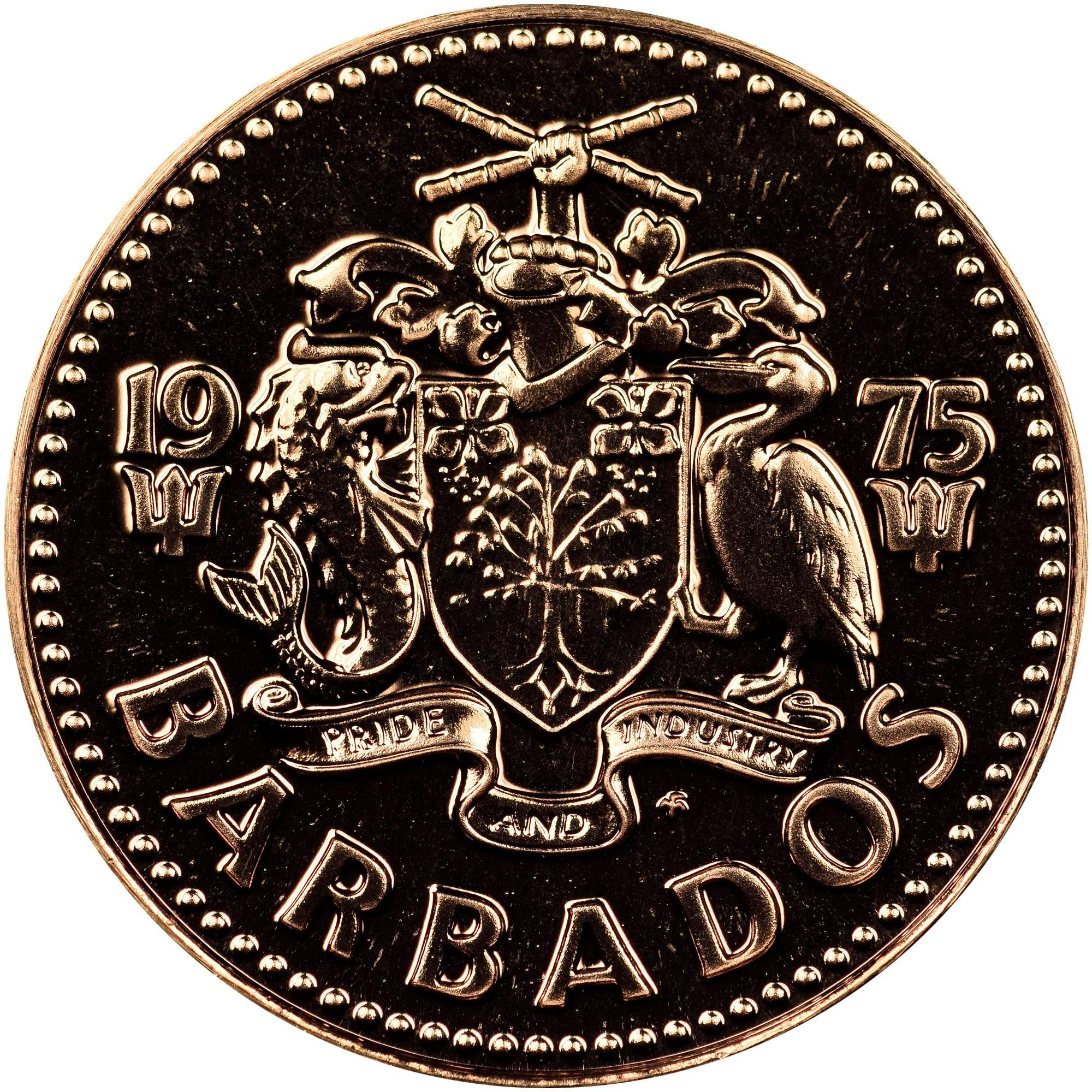 Barbados Cent obverse