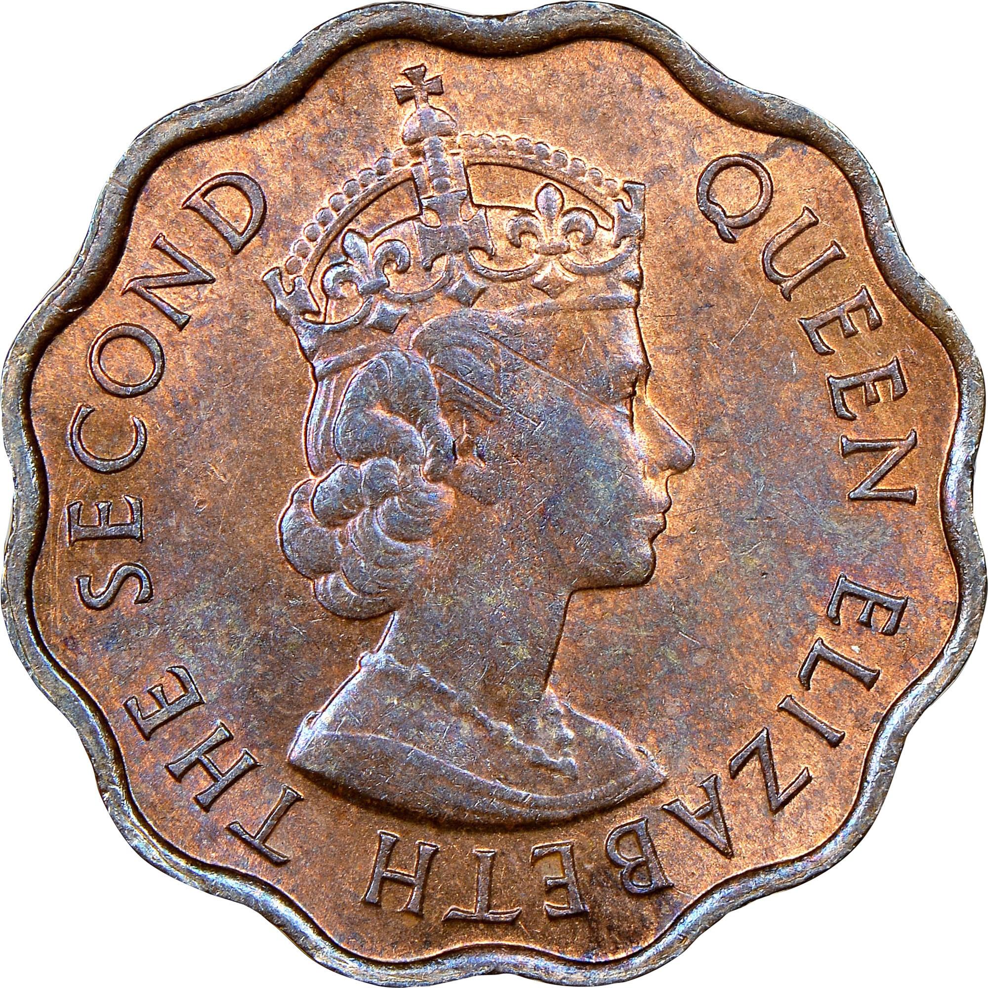 British Honduras Cent obverse