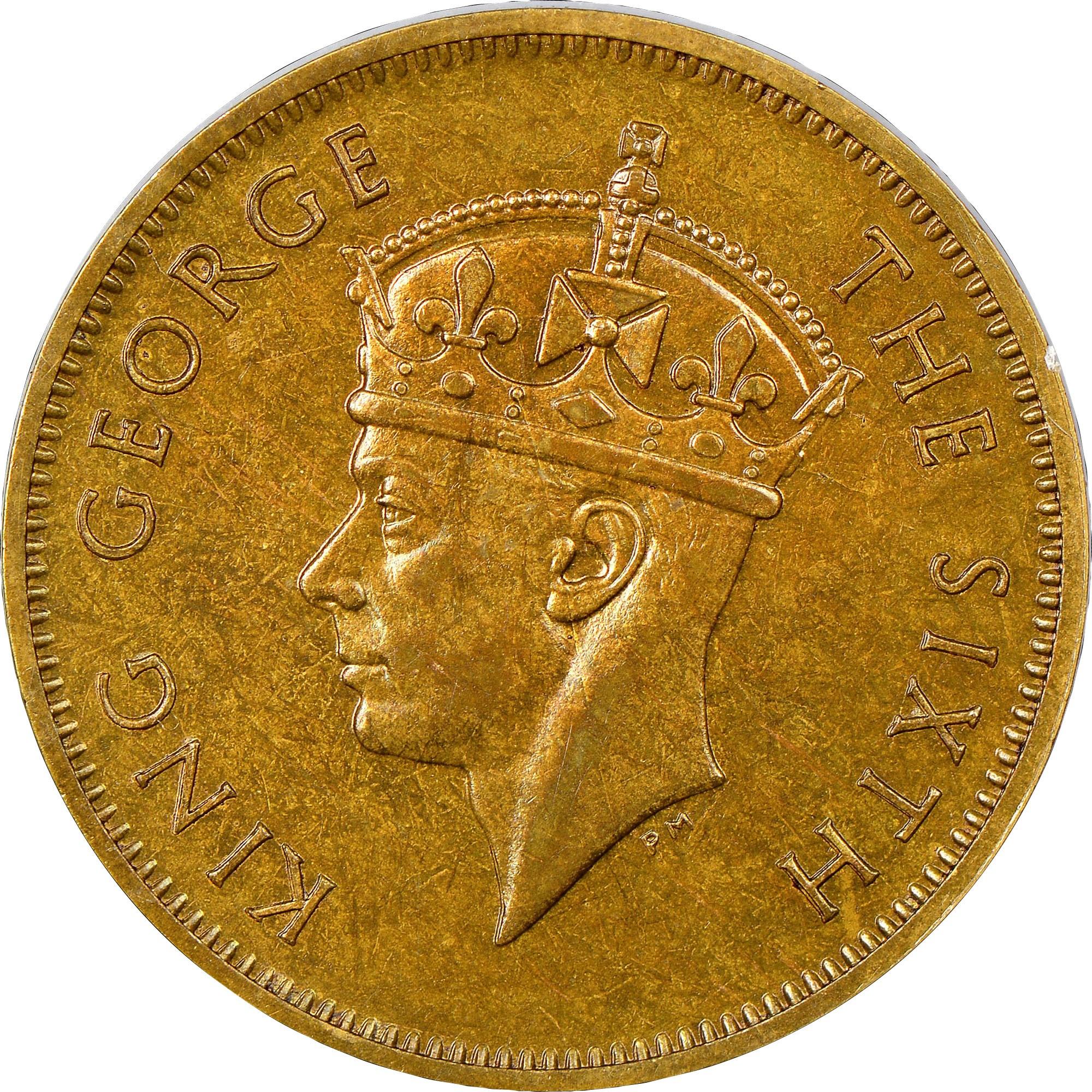 British Honduras 5 Cents obverse