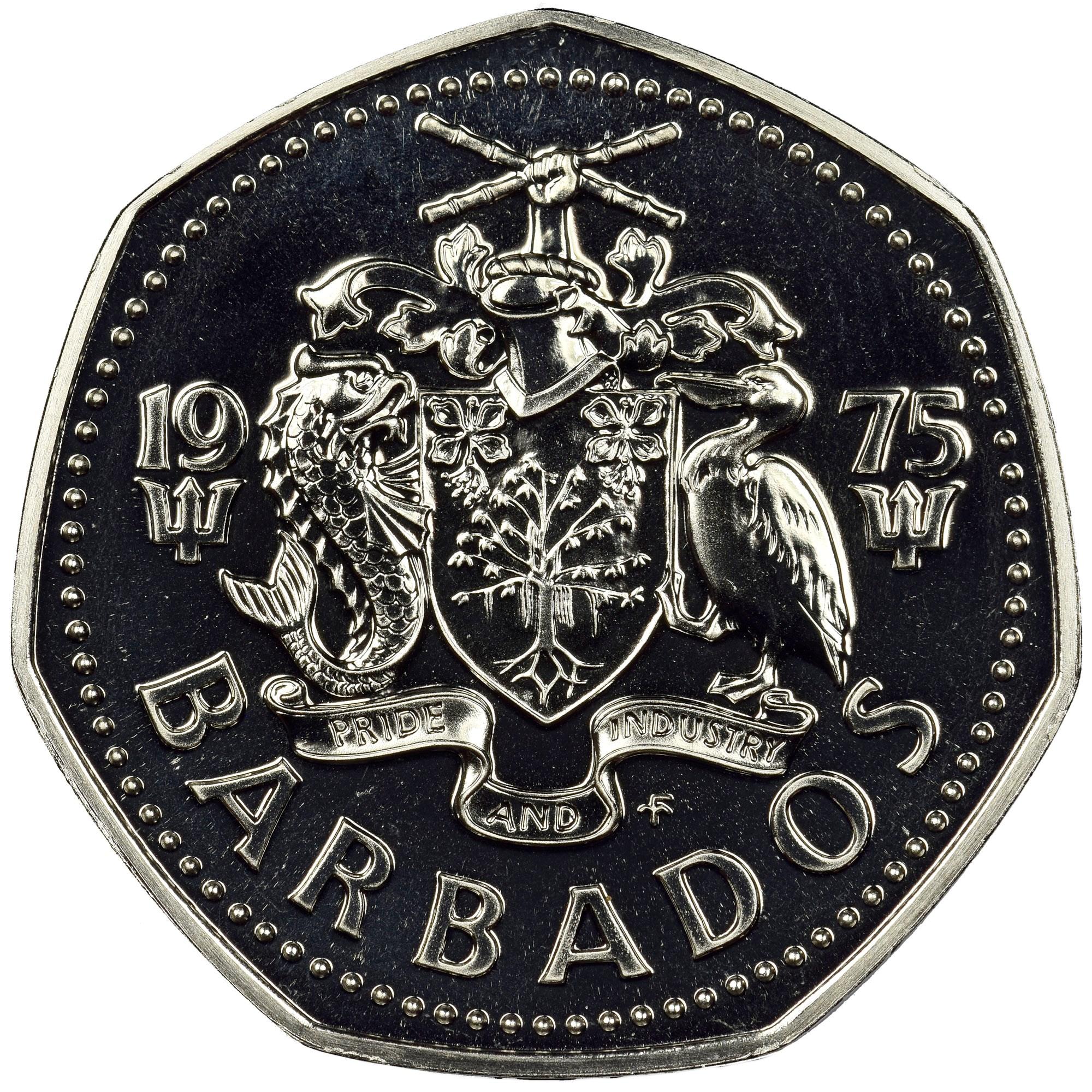 Barbados Dollar obverse