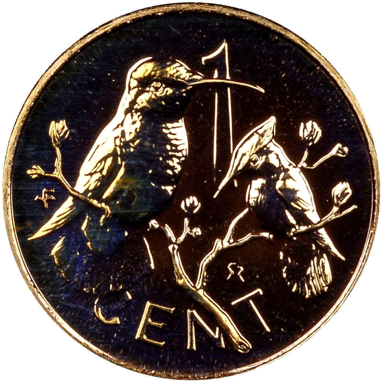 British Virgin Islands Cent reverse