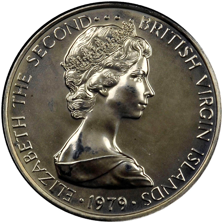 British Virgin Islands 5 Cents obverse