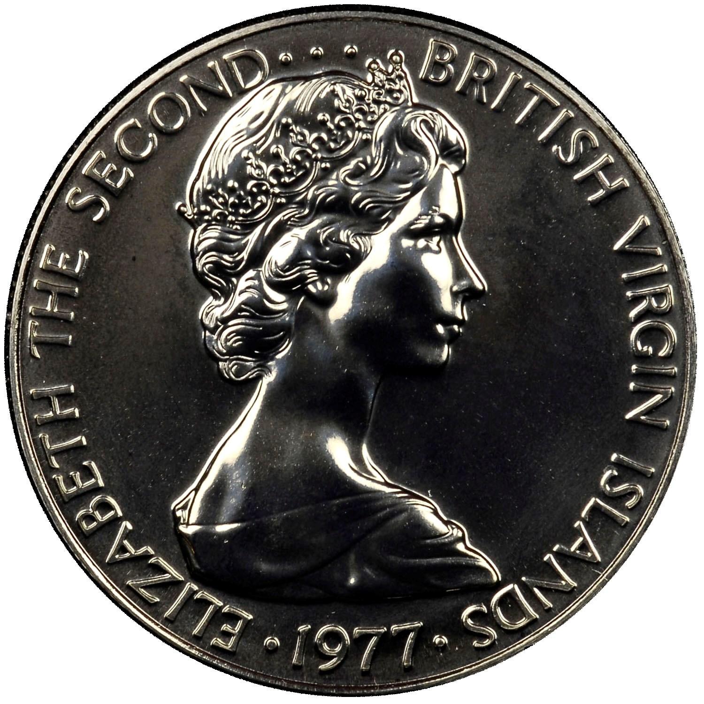 British Virgin Islands 25 Cents obverse