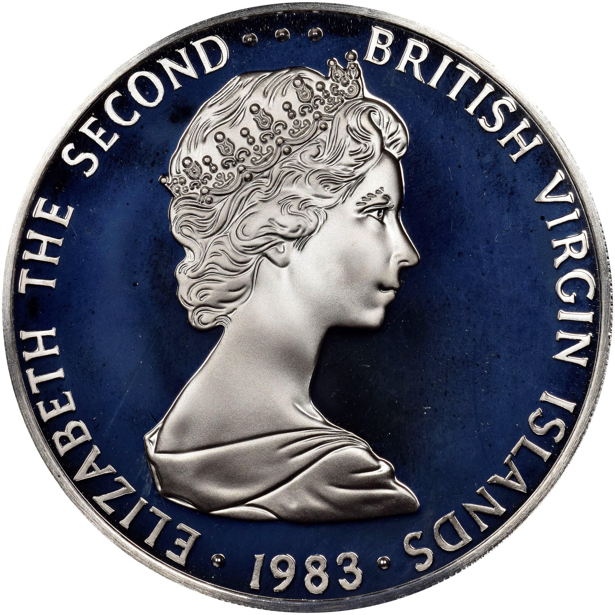 British Virgin Islands Dollar obverse